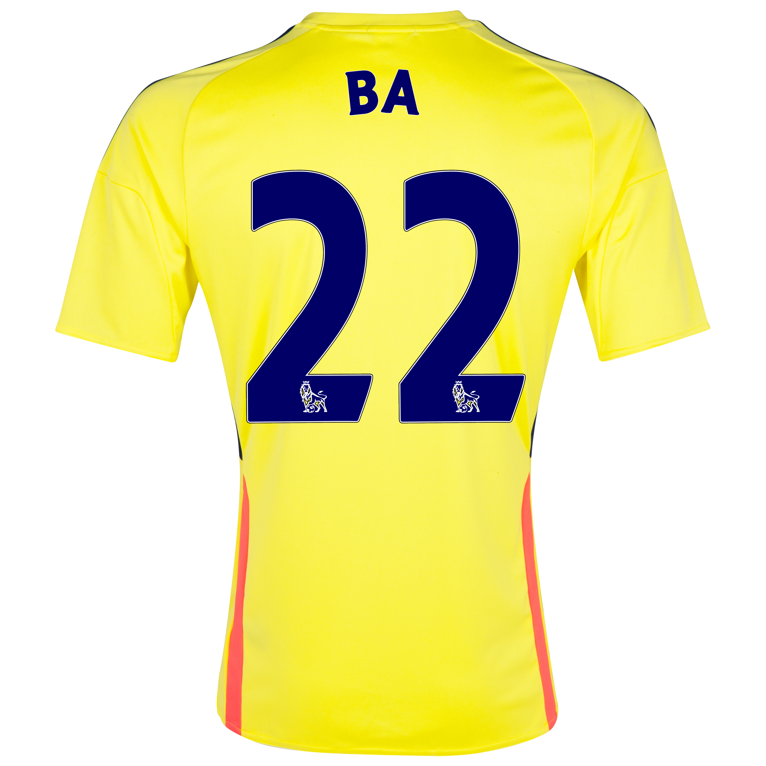 Sunderland Away Shirt 2013/14 with Ba 22 printing