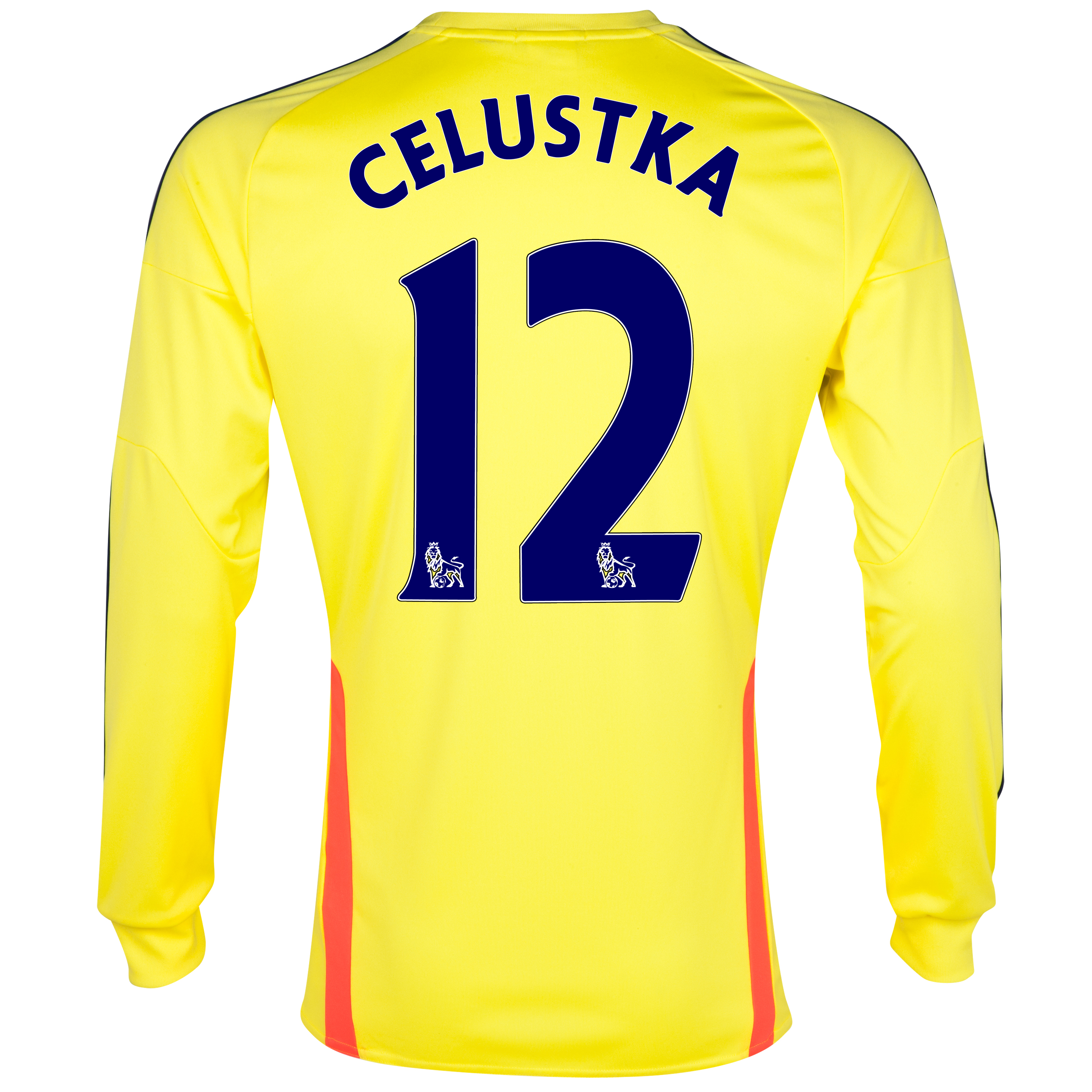 Sunderland Away Shirt 2013/14 - Long Sleeved with Celustka 12 printing
