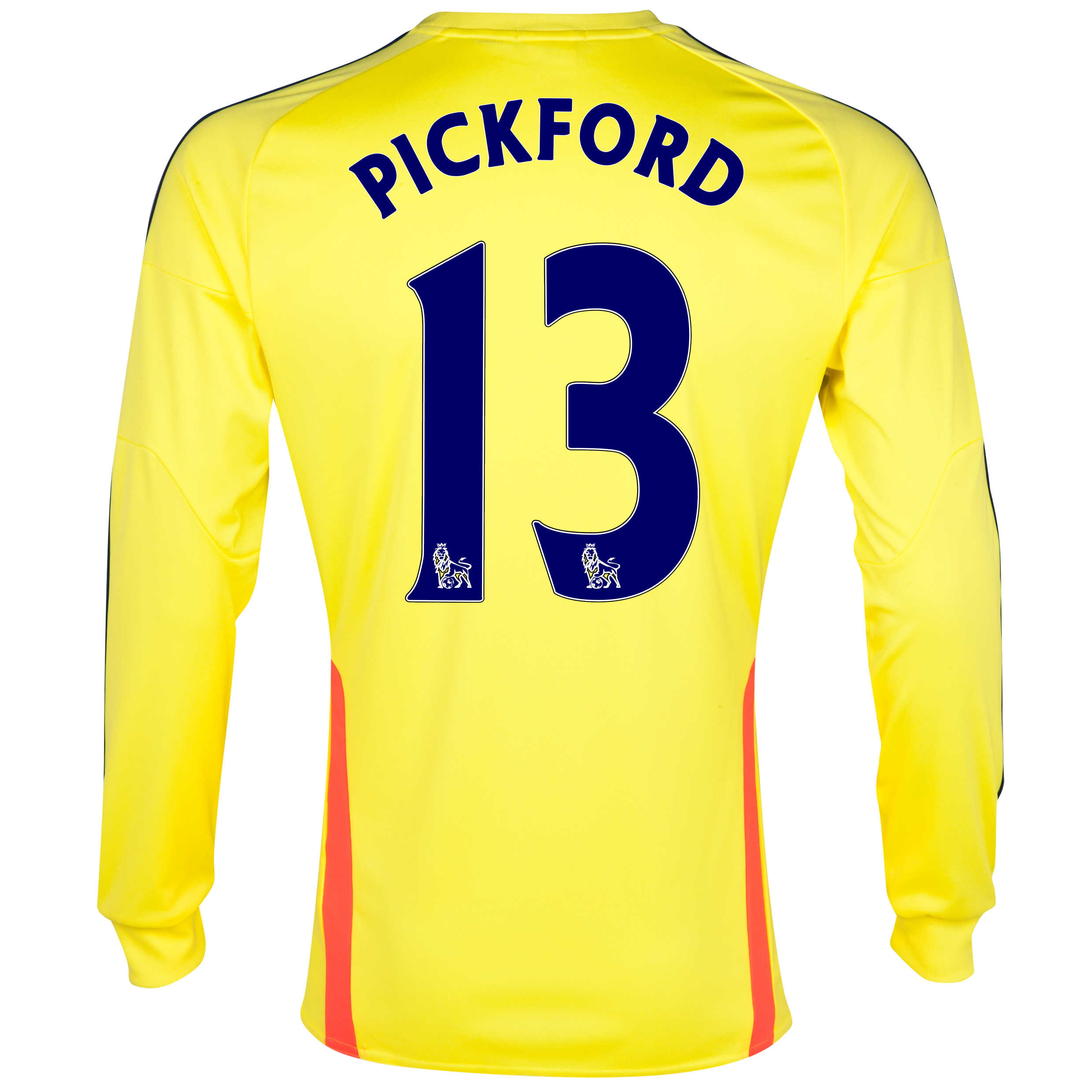 Sunderland Away Shirt 2013/14 - Long Sleeved with Pickford 13 printing