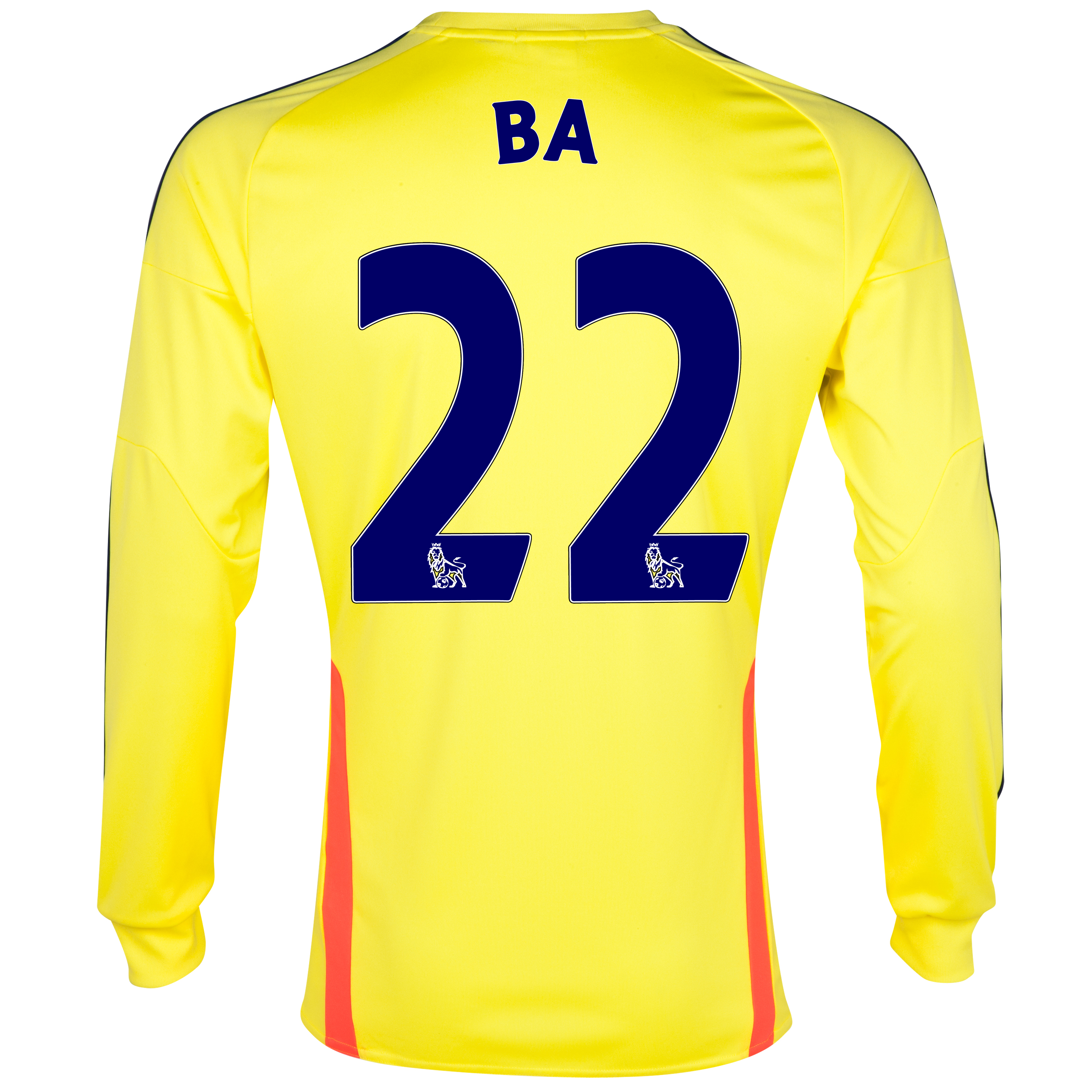 Sunderland Away Shirt 2013/14 - Long Sleeved with Ba 22 printing