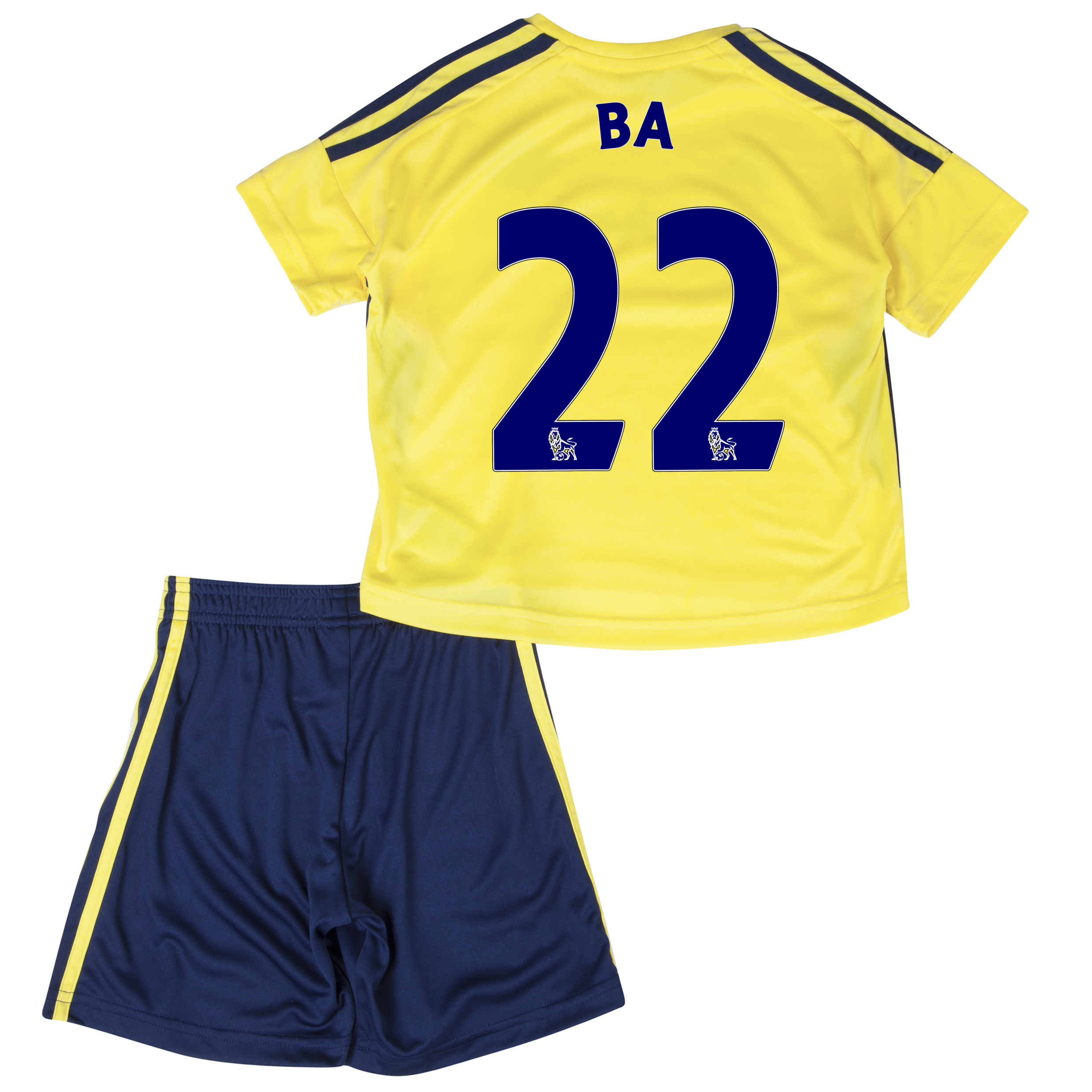 Sunderland Away Minikit 2013/14 - Infants with Ba 22 printing