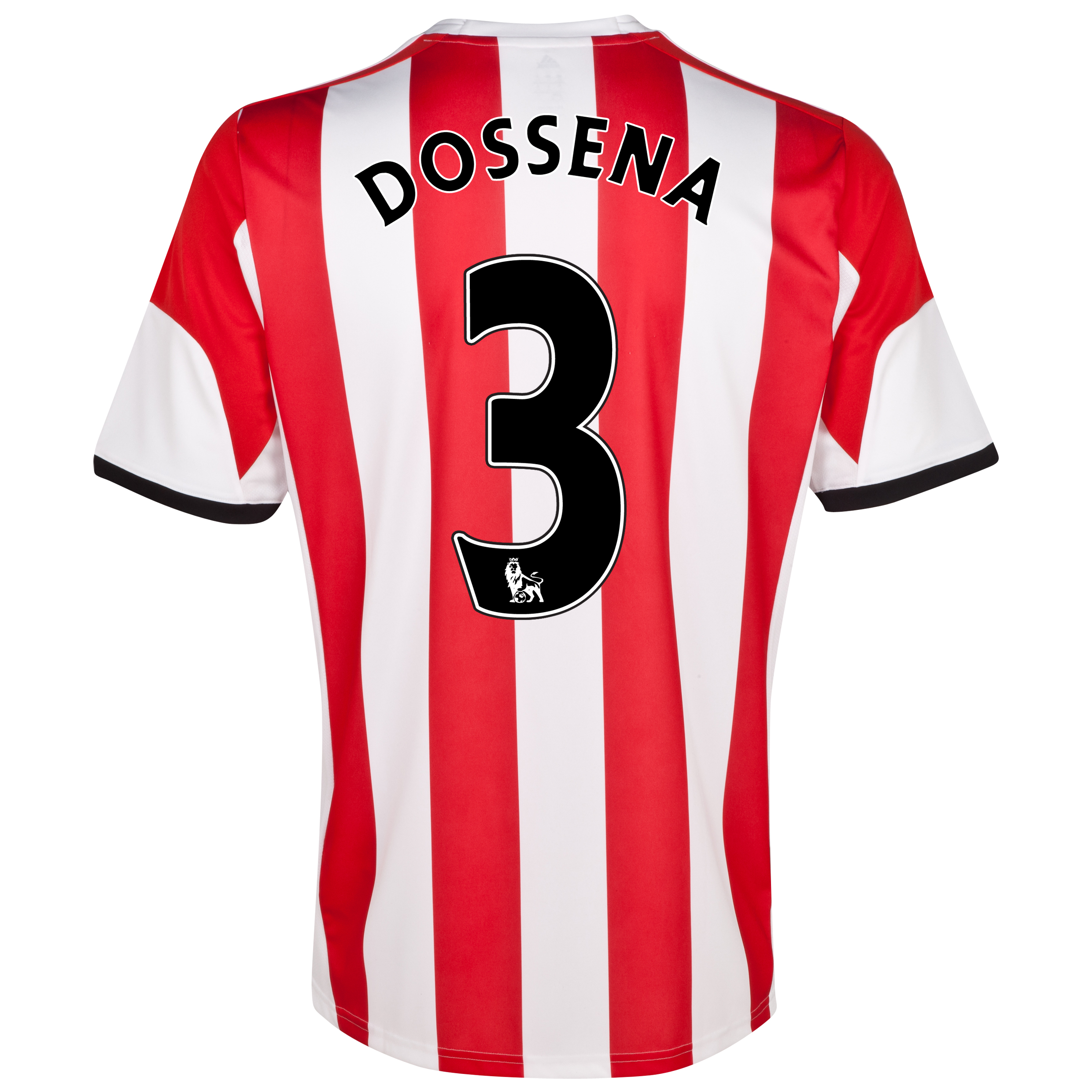 Sunderland Home Shirt 2013/14 with Dossena 3 printing
