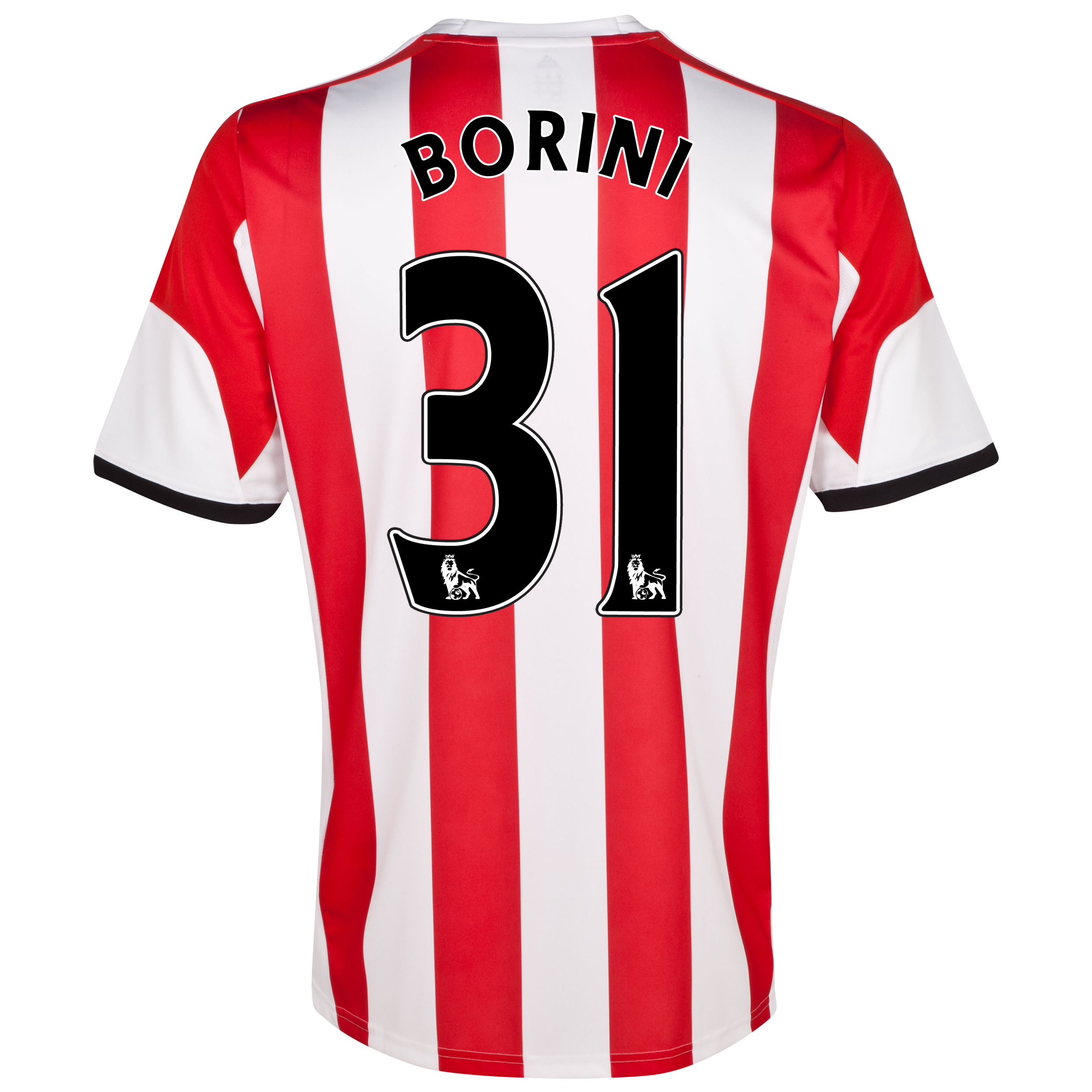 Sunderland Home Shirt 2013/14 with Borini 31 printing