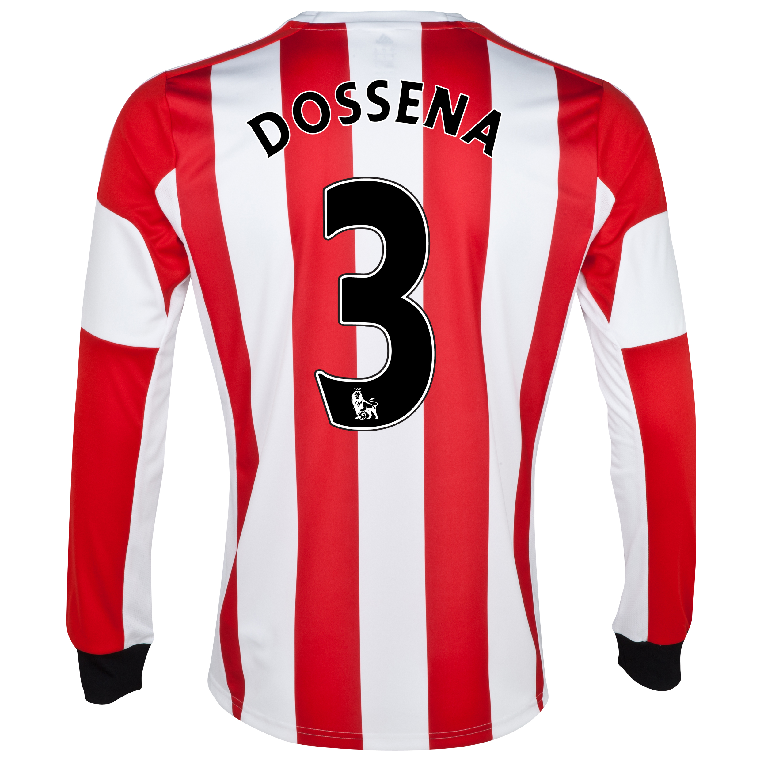 Sunderland Home Shirt 2013/14 - Long Sleeved - Junior with Dossena 3 printing