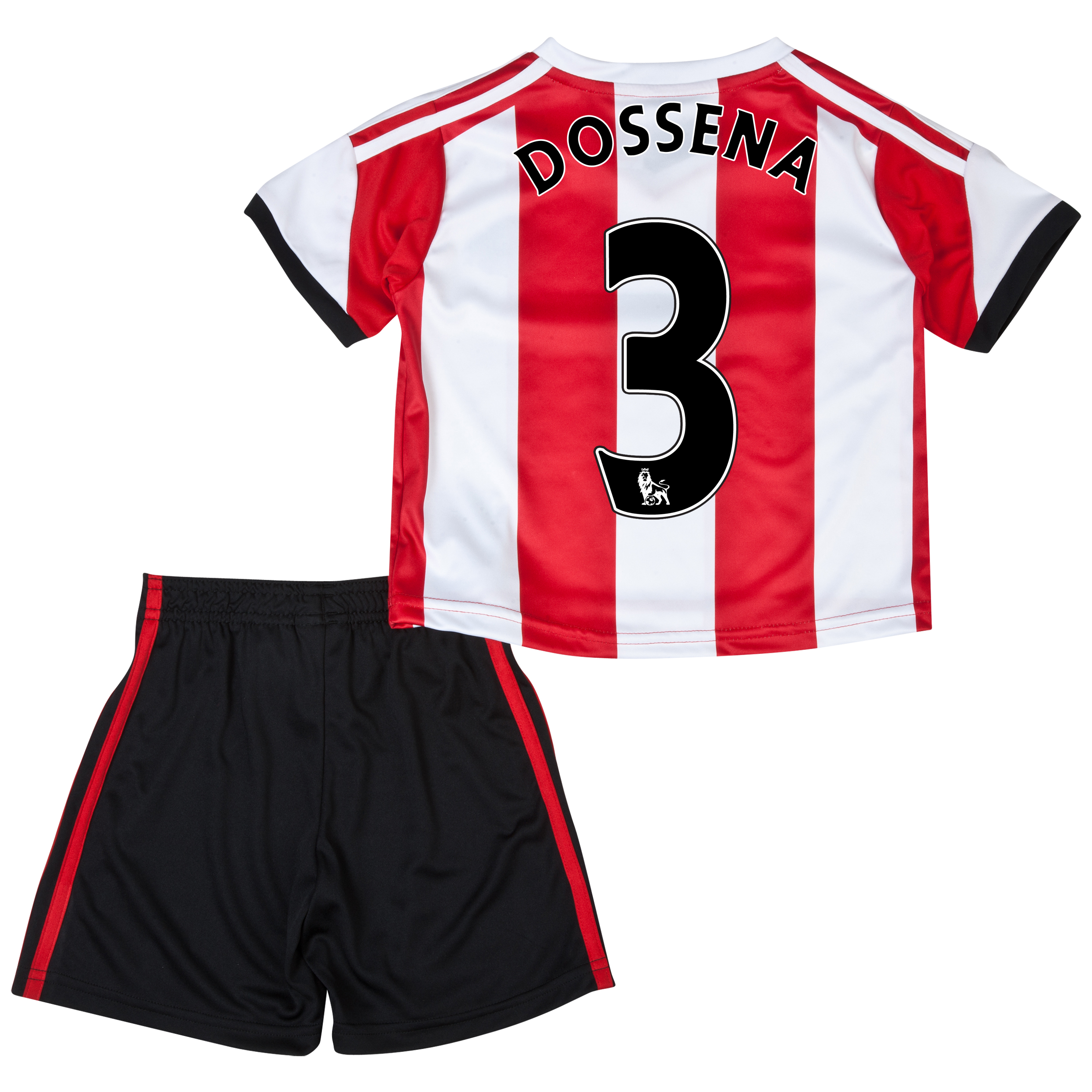 Sunderland Home Minikit 2013/14 - Infants with Dossena 3 printing