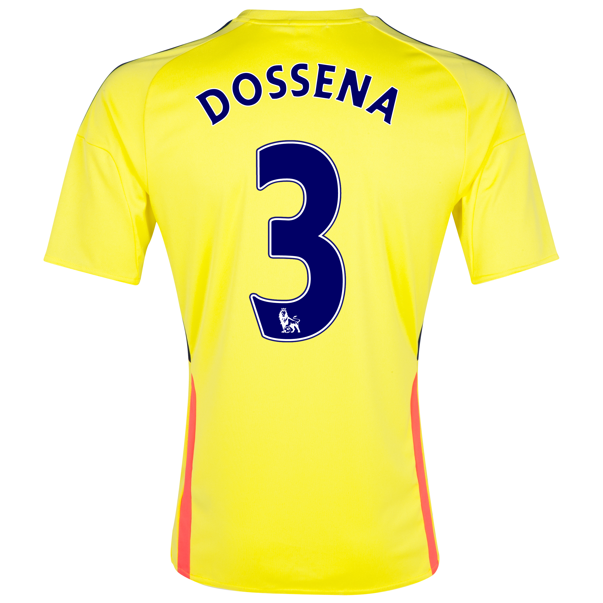 Sunderland Away Shirt 2013/14 with Dossena 3 printing