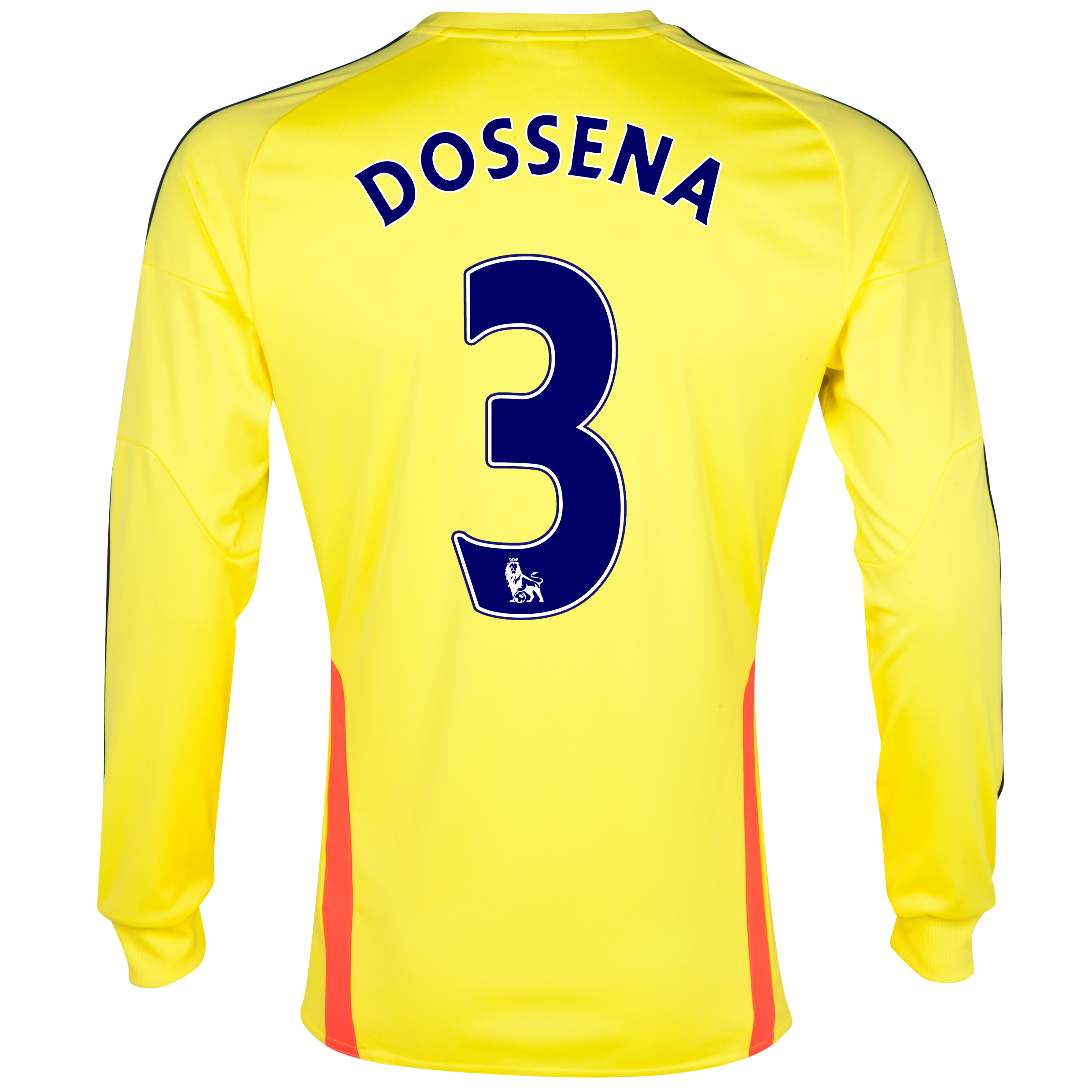 Sunderland Away Shirt 2013/14 - Long Sleeved with Dossena 3 printing