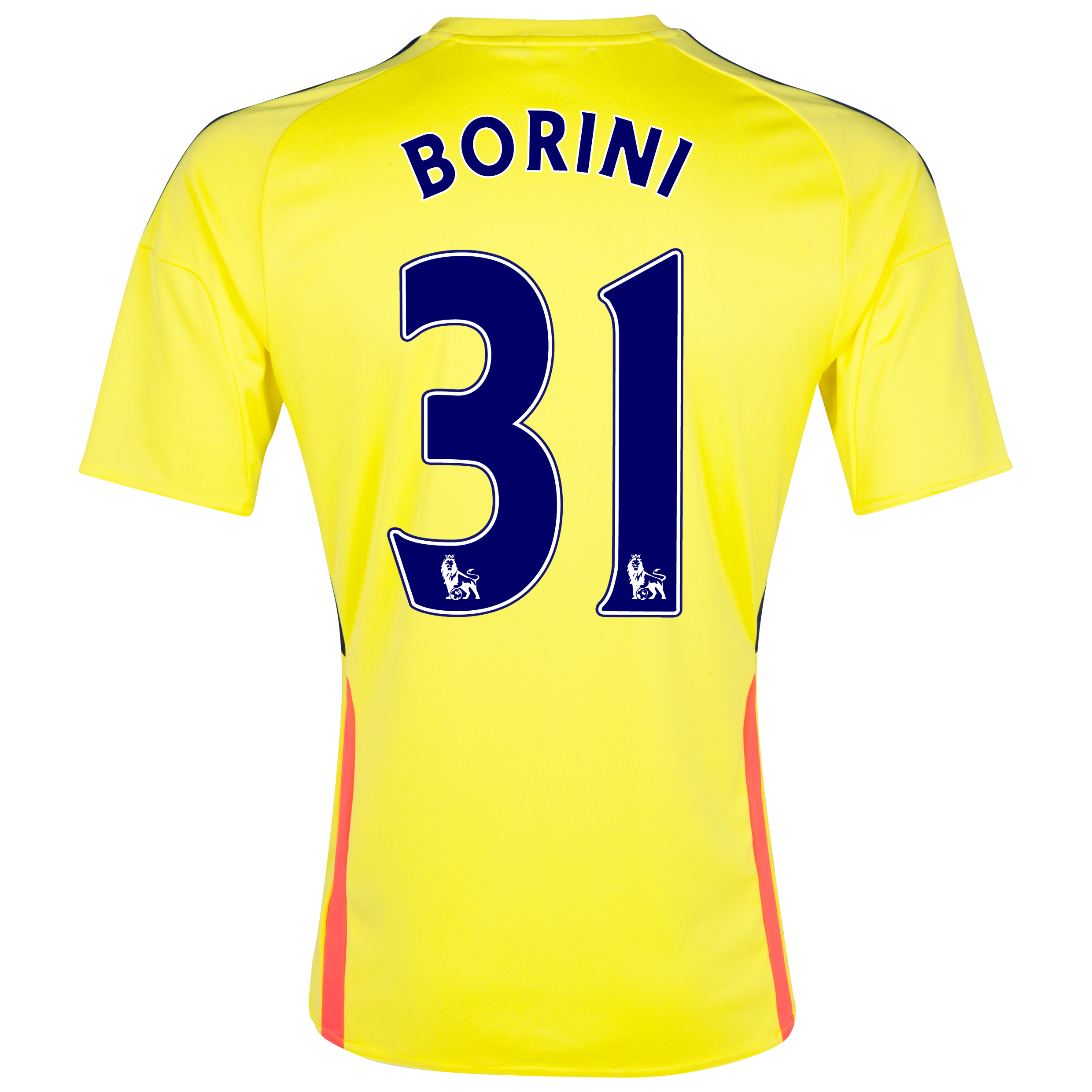 Sunderland Away Shirt 2013/14 - Junior with Borini 31 printing