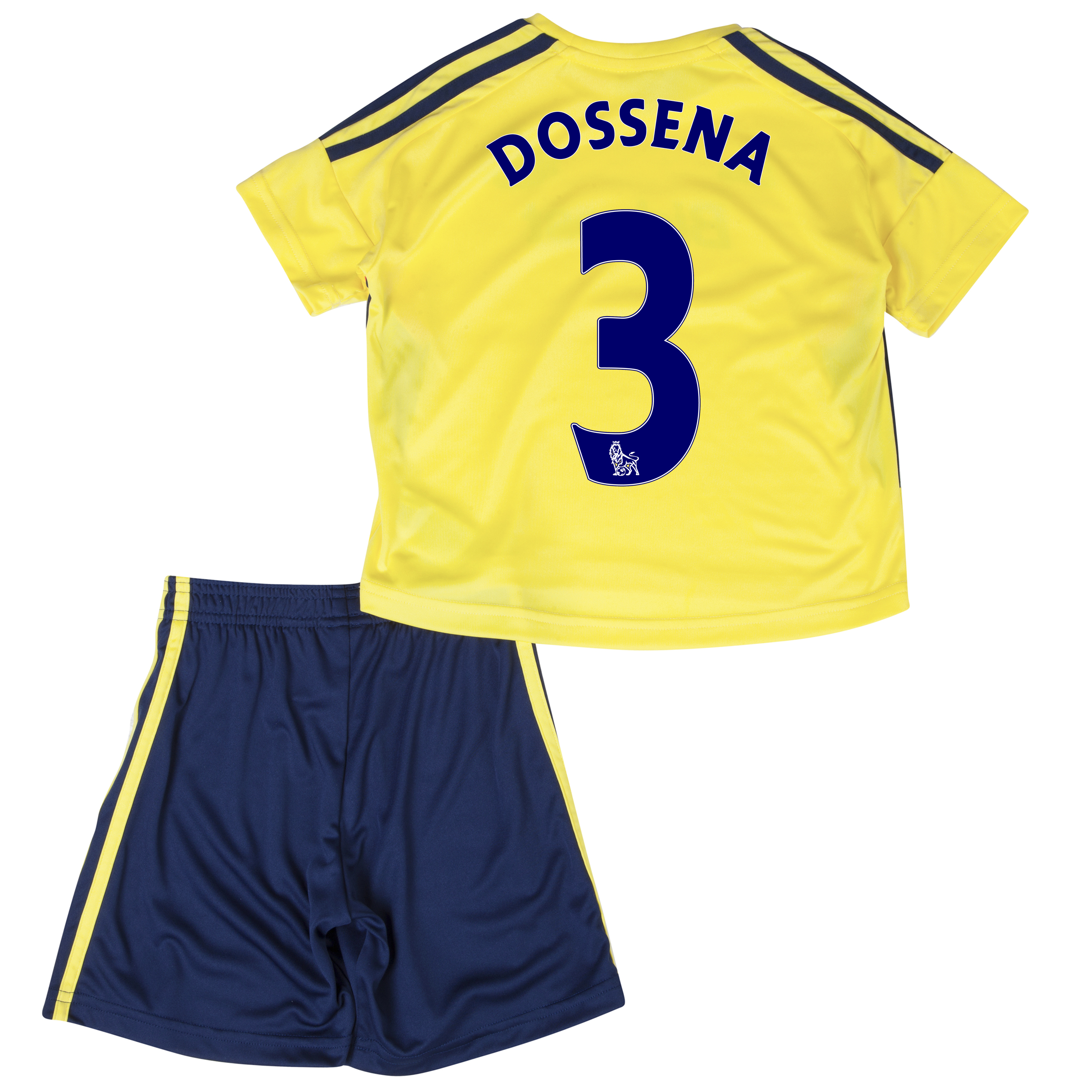 Sunderland Away Minikit 2013/14 - Infants with Dossena 3 printing