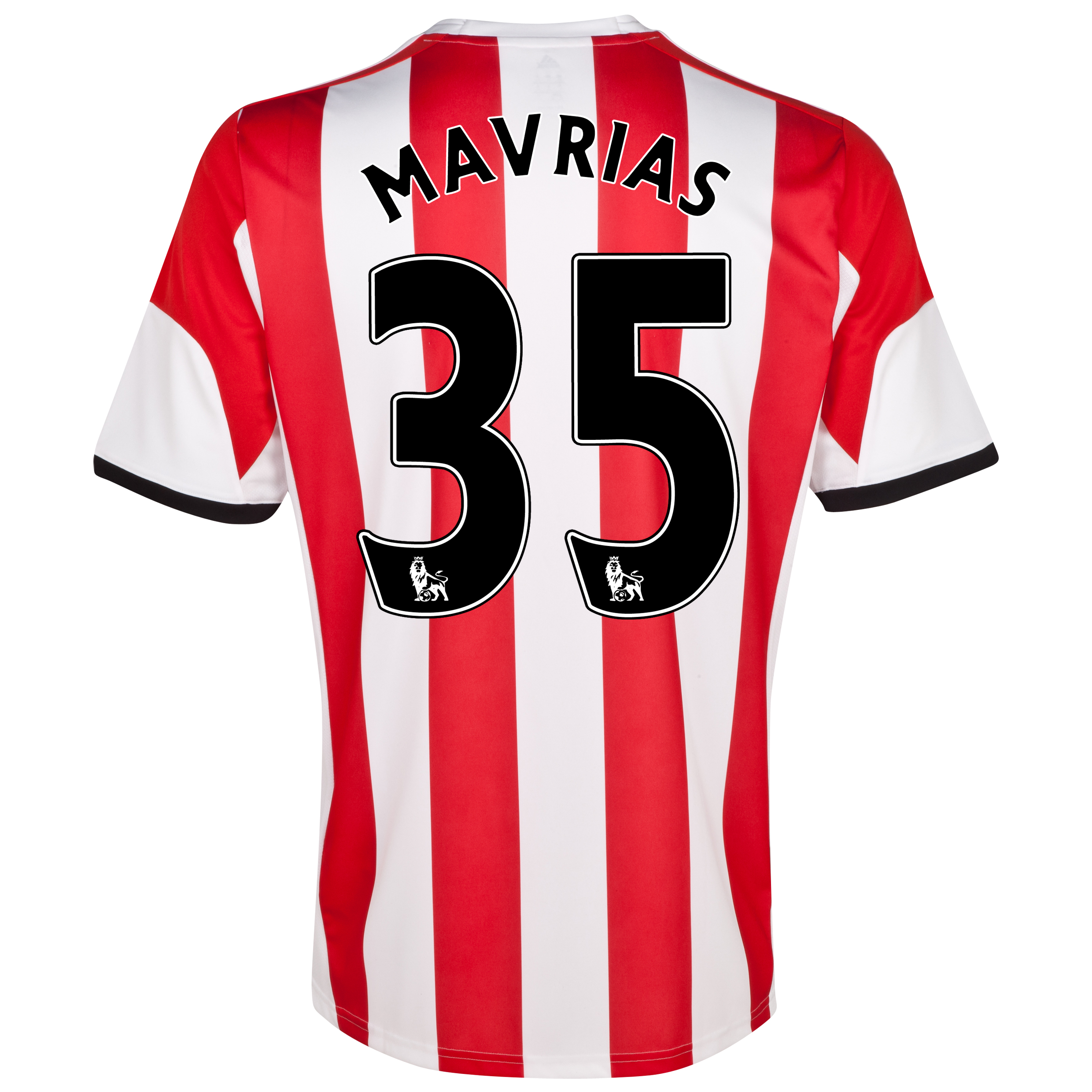 Sunderland Home Shirt 2013/14 with Mavrias 35 printing