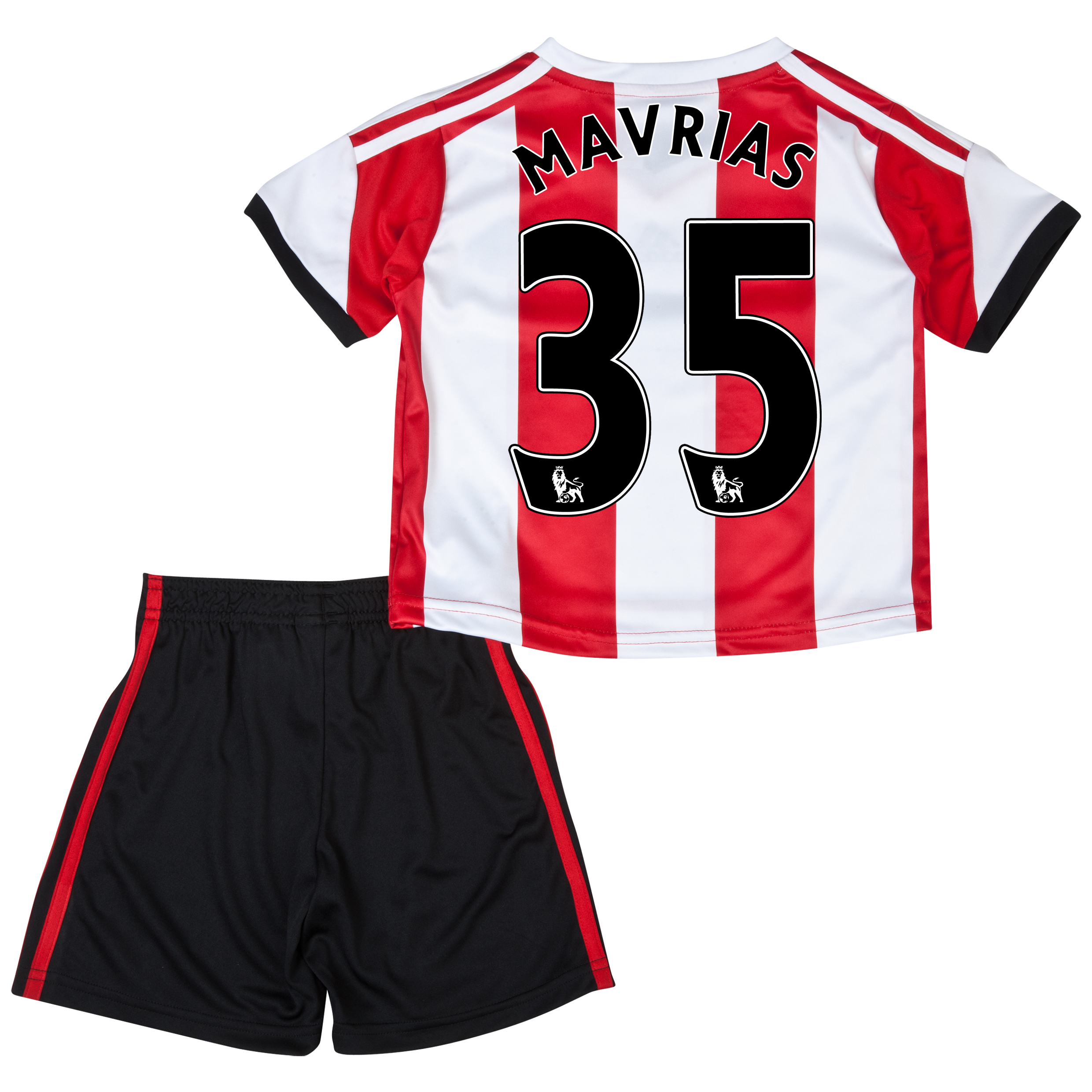 Sunderland Home Minikit 2013/14 - Infants with Mavrias 35 printing