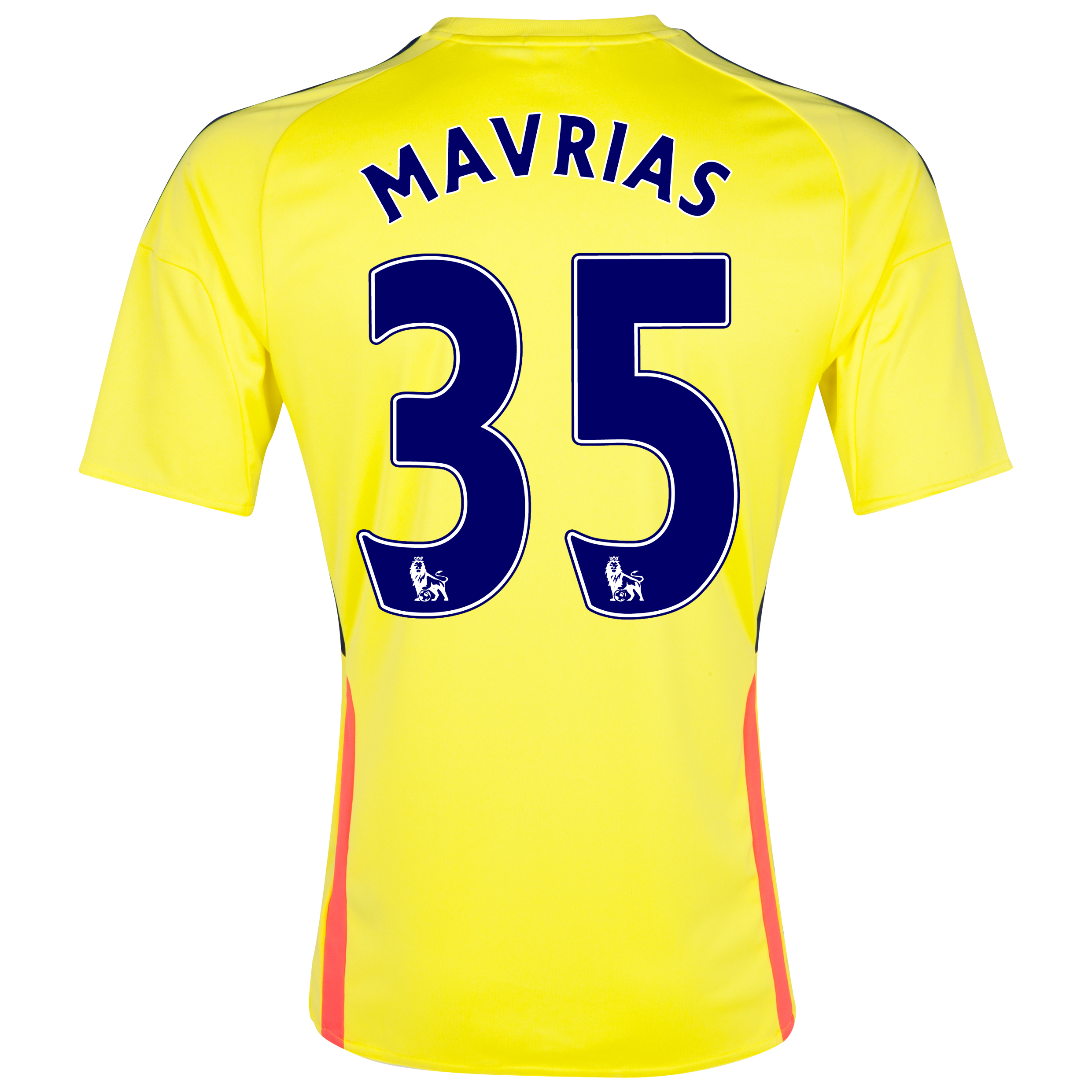 Sunderland Away Shirt 2013/14 with Mavrias 35 printing