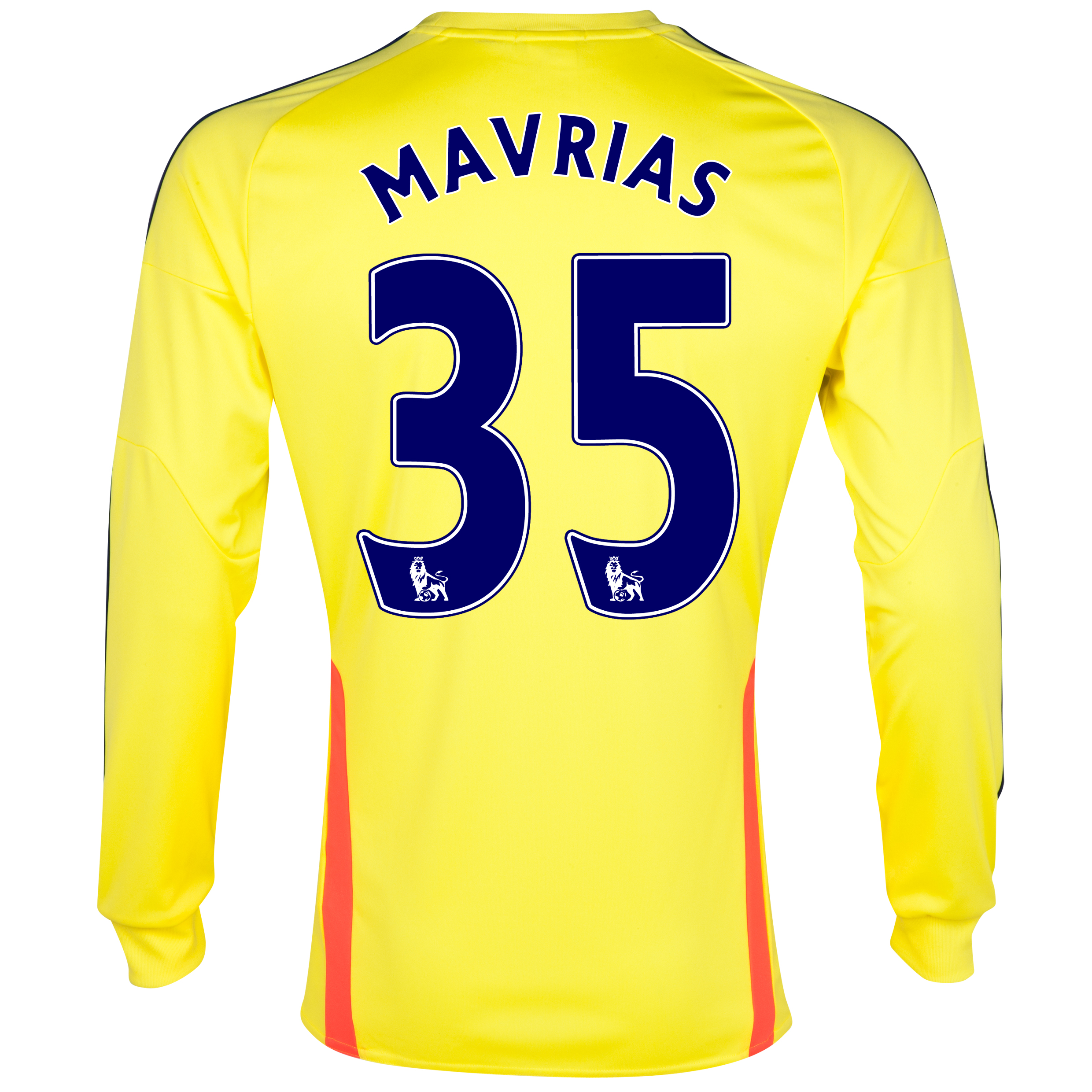 Sunderland Away Shirt 2013/14 - Long Sleeved with Mavrias 35 printing