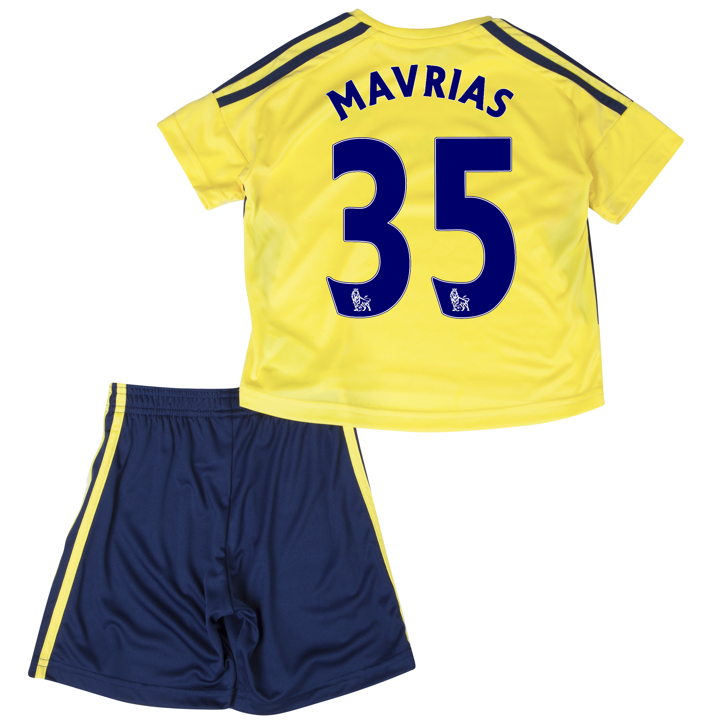 Sunderland Away Minikit 2013/14 - Infants with Mavrias 35 printing