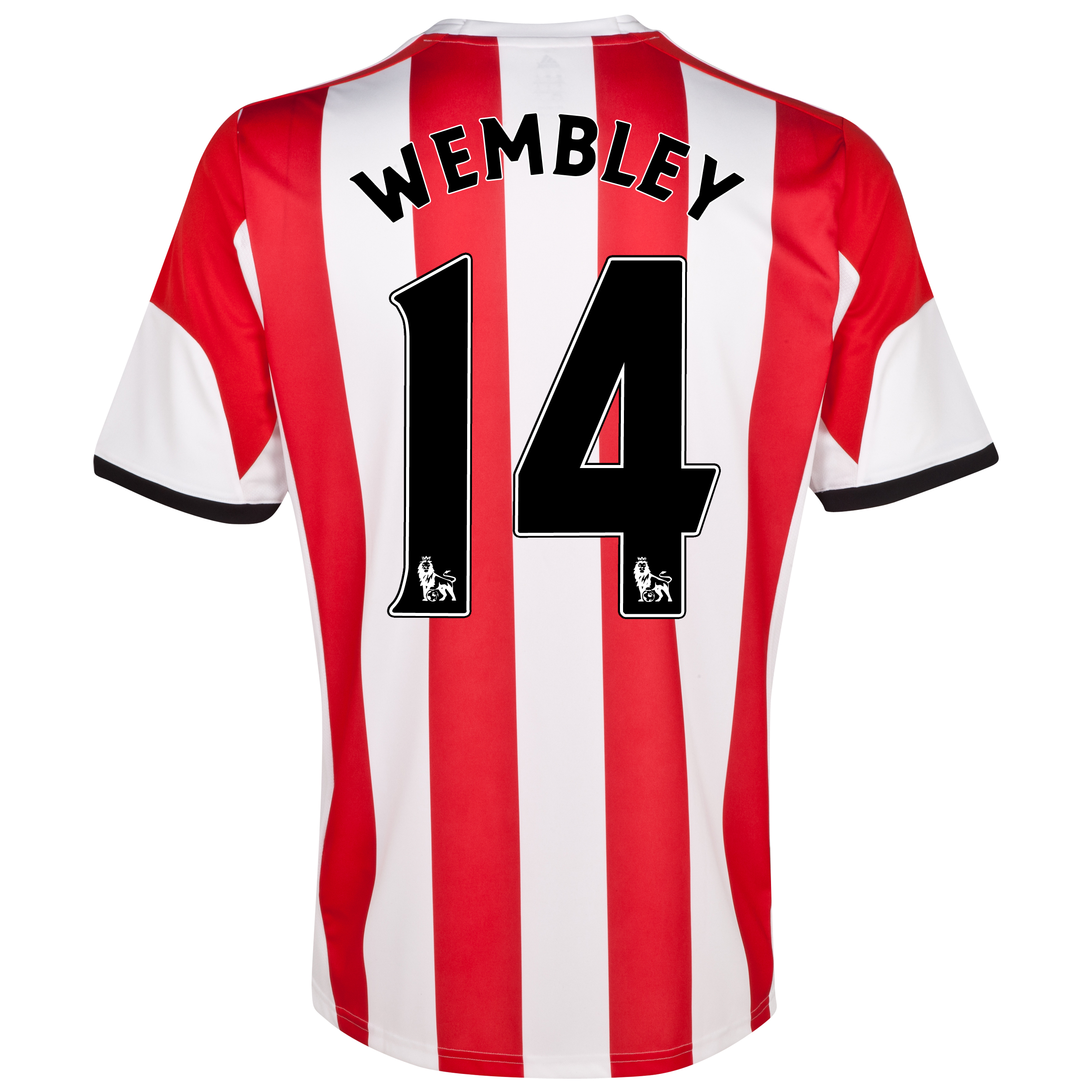 Sunderland Home Shirt 2013/14 with Wembley 14 printing