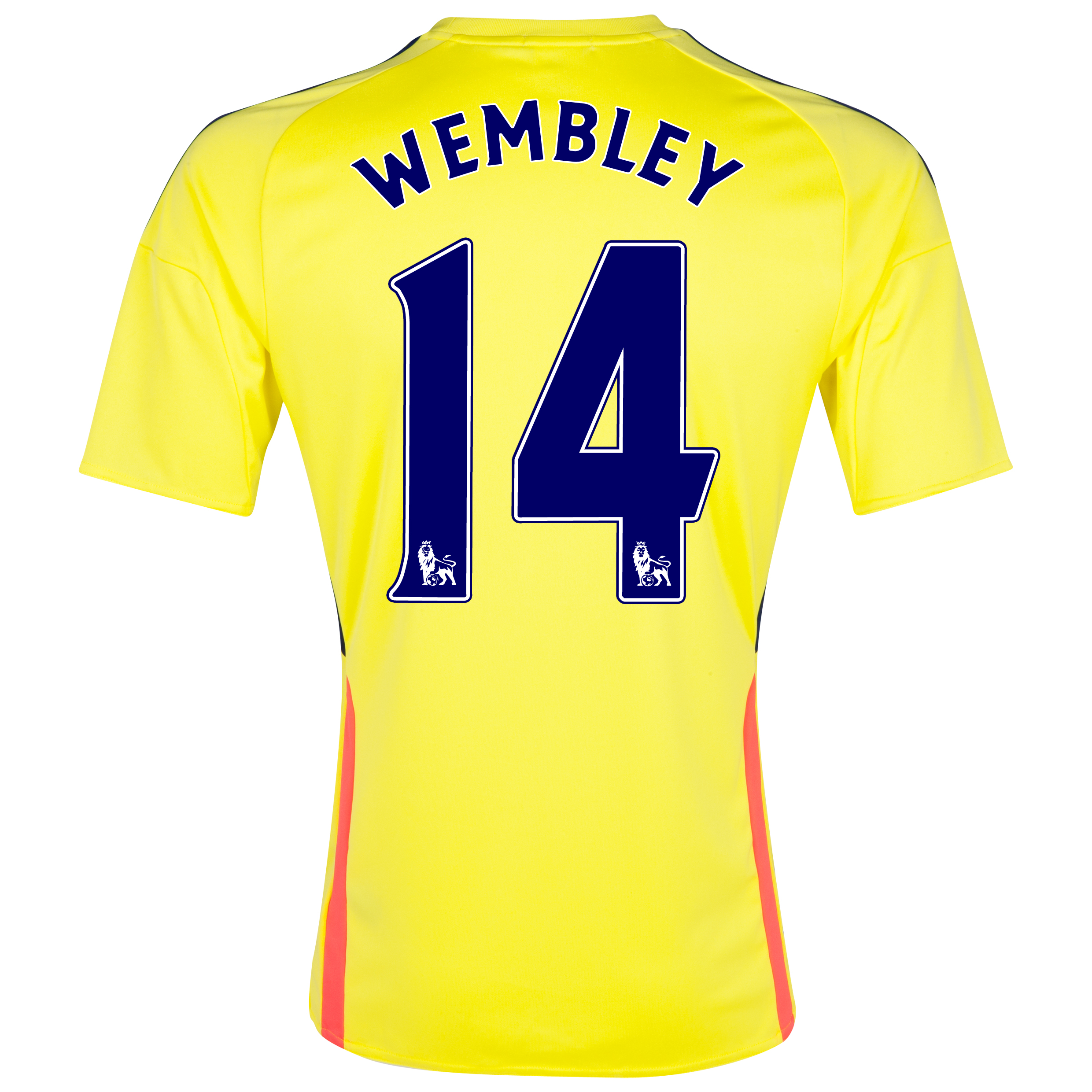 Sunderland Away Shirt 2013/14 - Junior with Wembley 14 printing