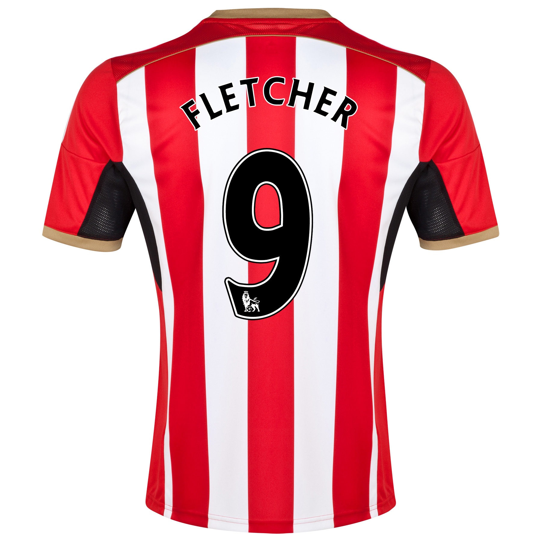 Sunderland Home Shirt 2014/15 Red with Fletcher 9 printing