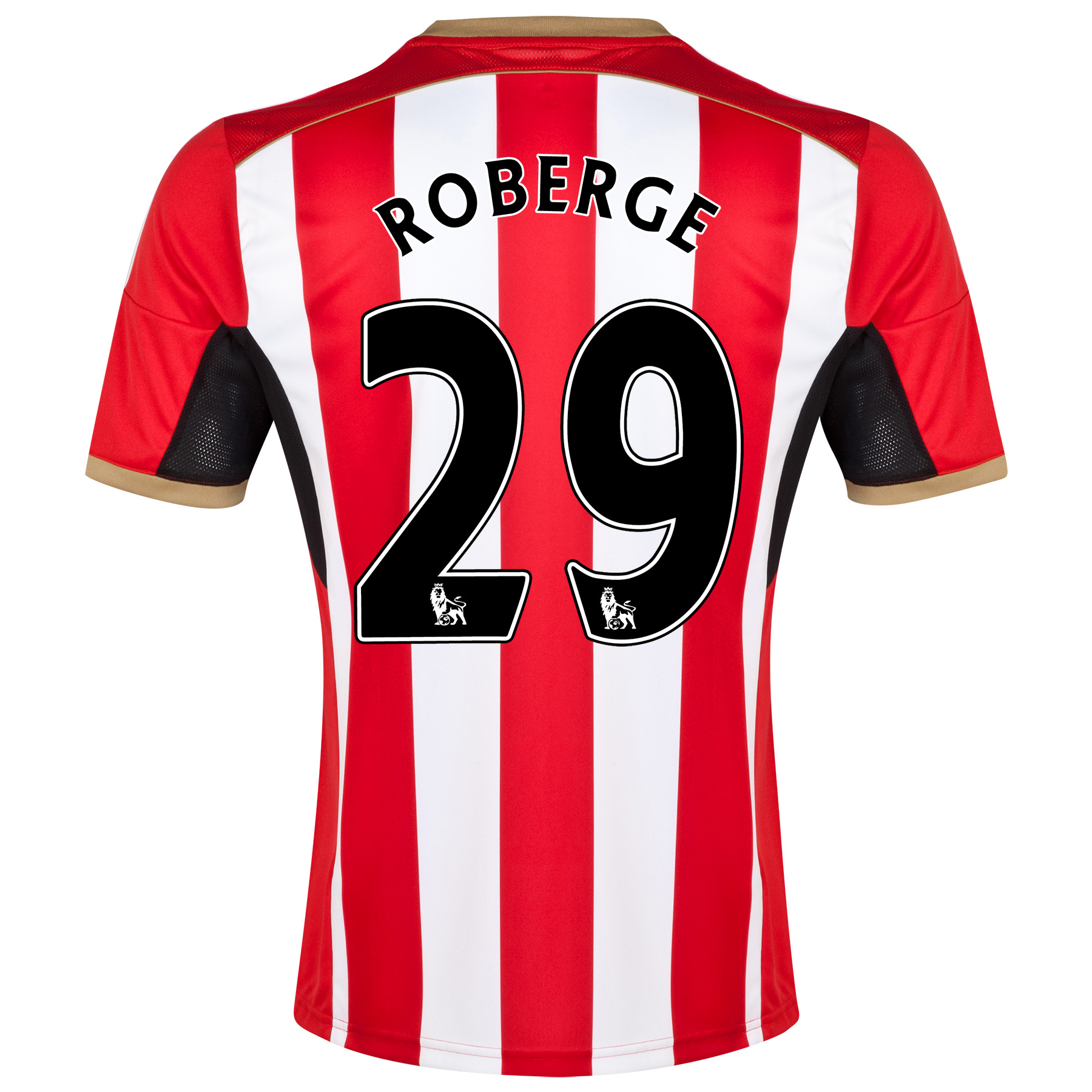 Sunderland Home Shirt 2014/15 Red with Roberge 29 printing