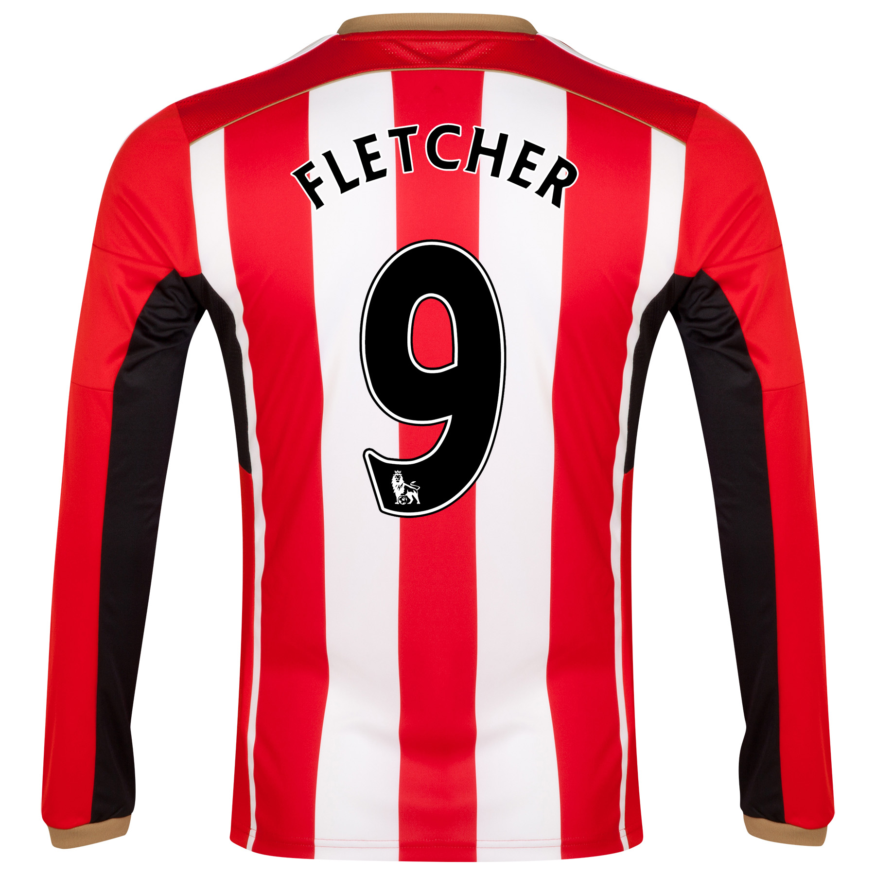 Sunderland Home Shirt 2014/15 - Long Sleeved Red with Fletcher 9 printing
