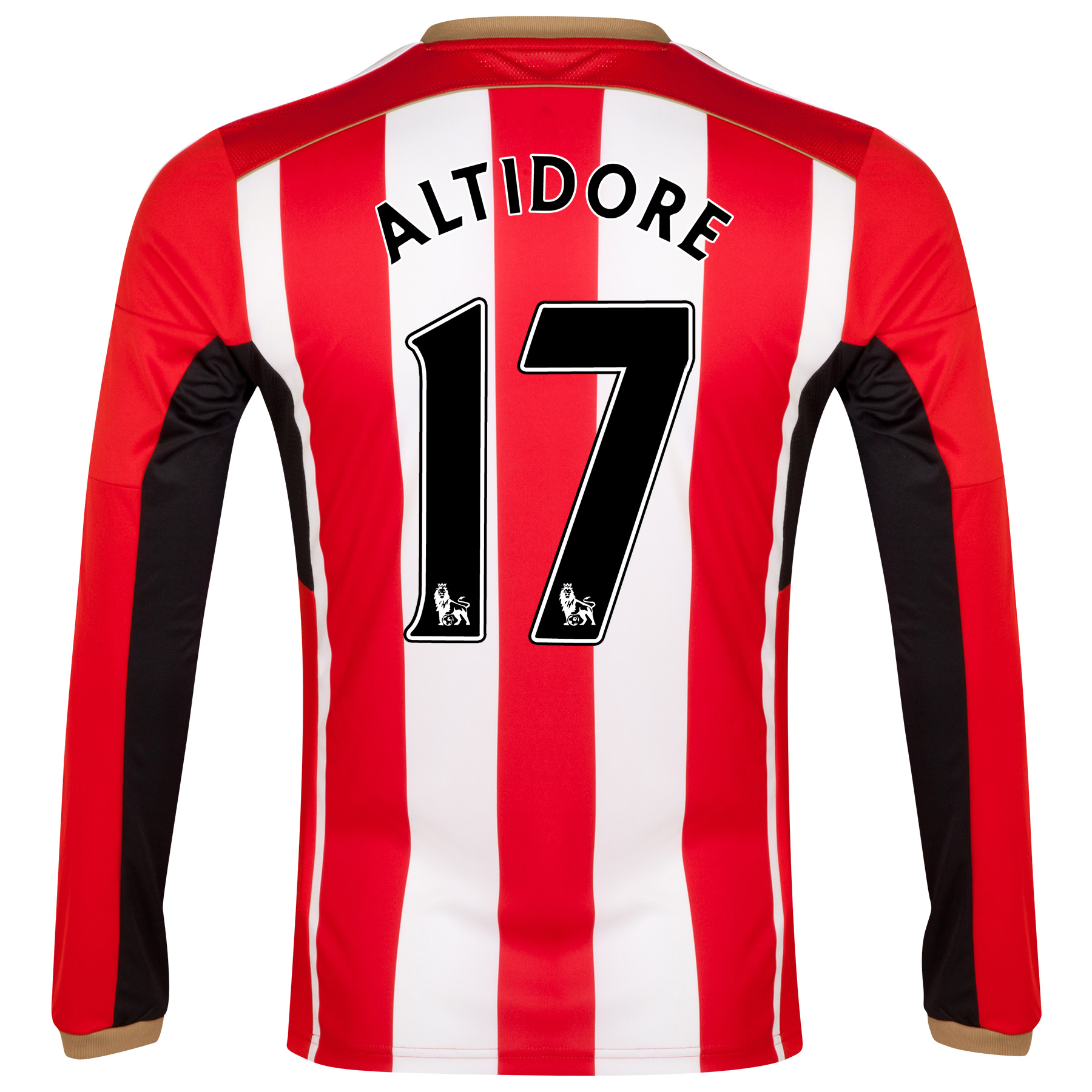 Sunderland Home Shirt 2014/15 - Long Sleeved Red with Altidore 17 printing