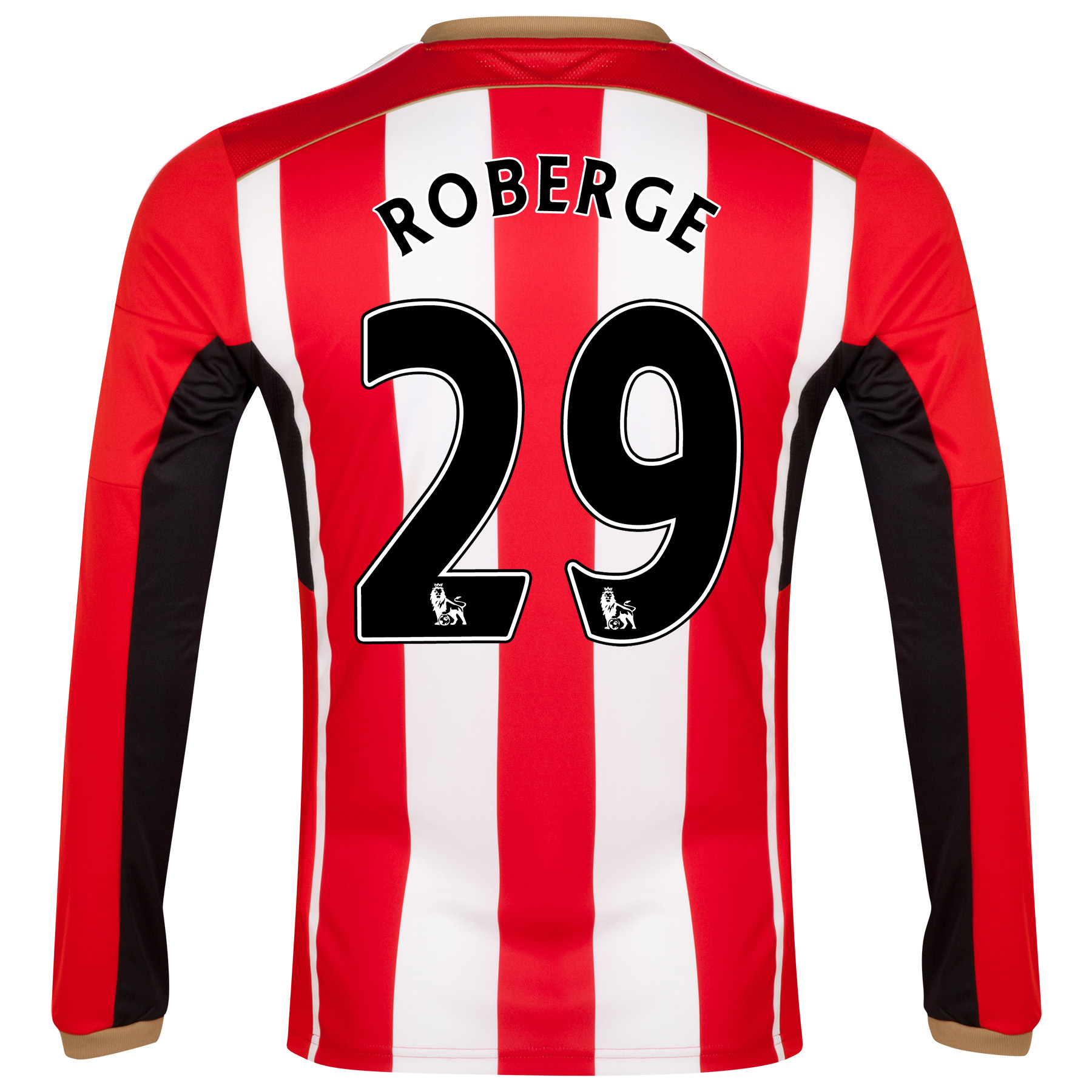 Sunderland Home Shirt 2014/15 - Long Sleeved Red with Roberge 29 printing