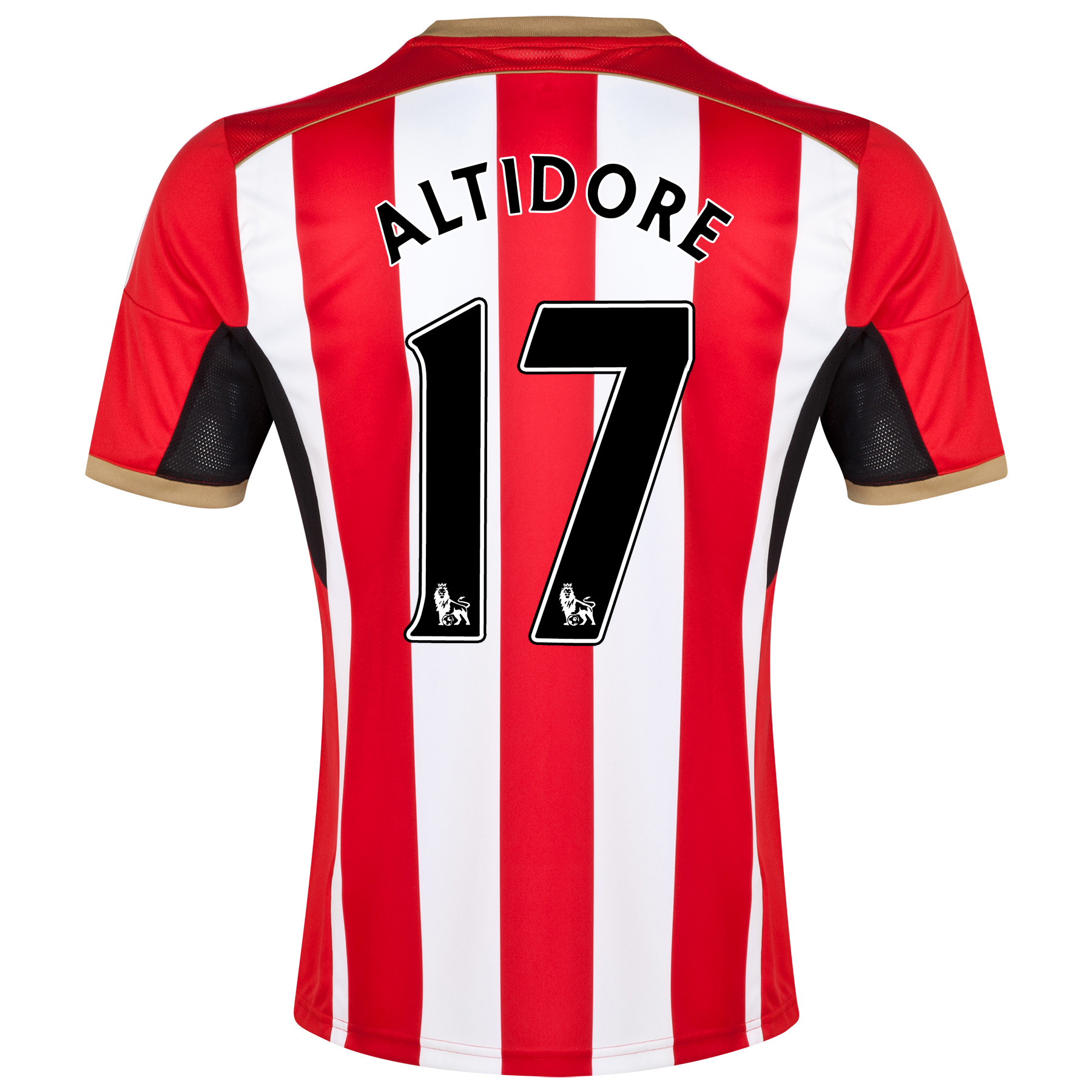 Sunderland Home Shirt 2014/15 - Junior Red with Altidore 17 printing