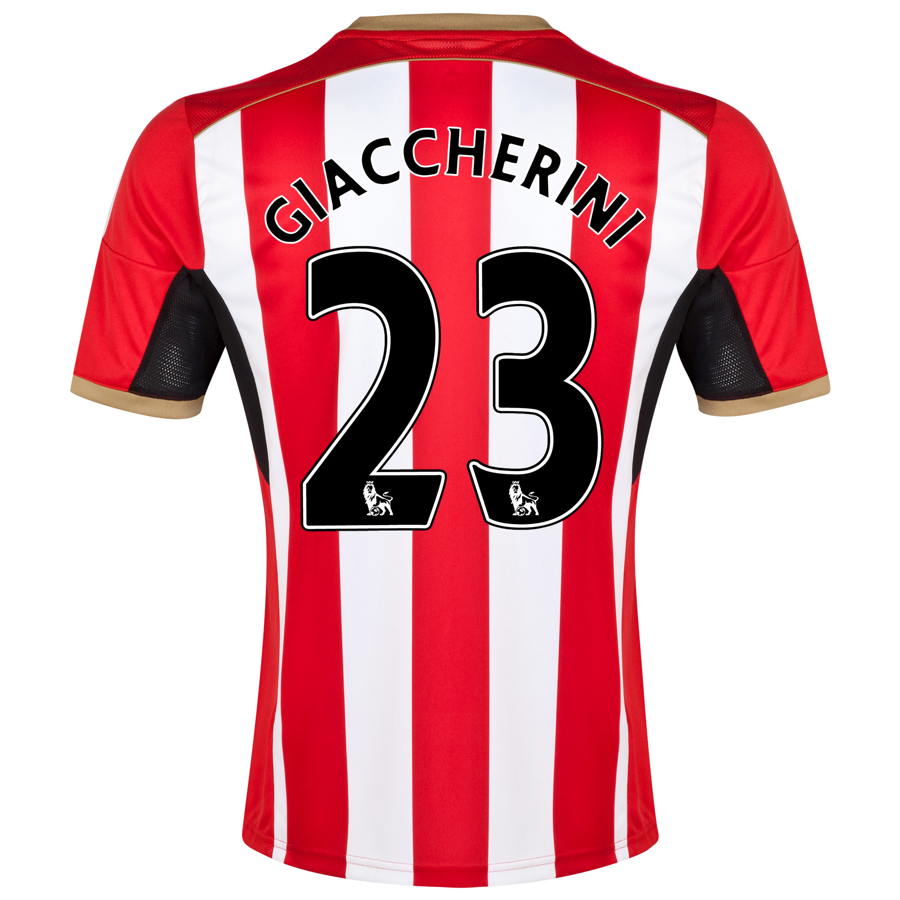 Sunderland Home Shirt 2014/15 - Junior Red with Giaccherini 23 printing