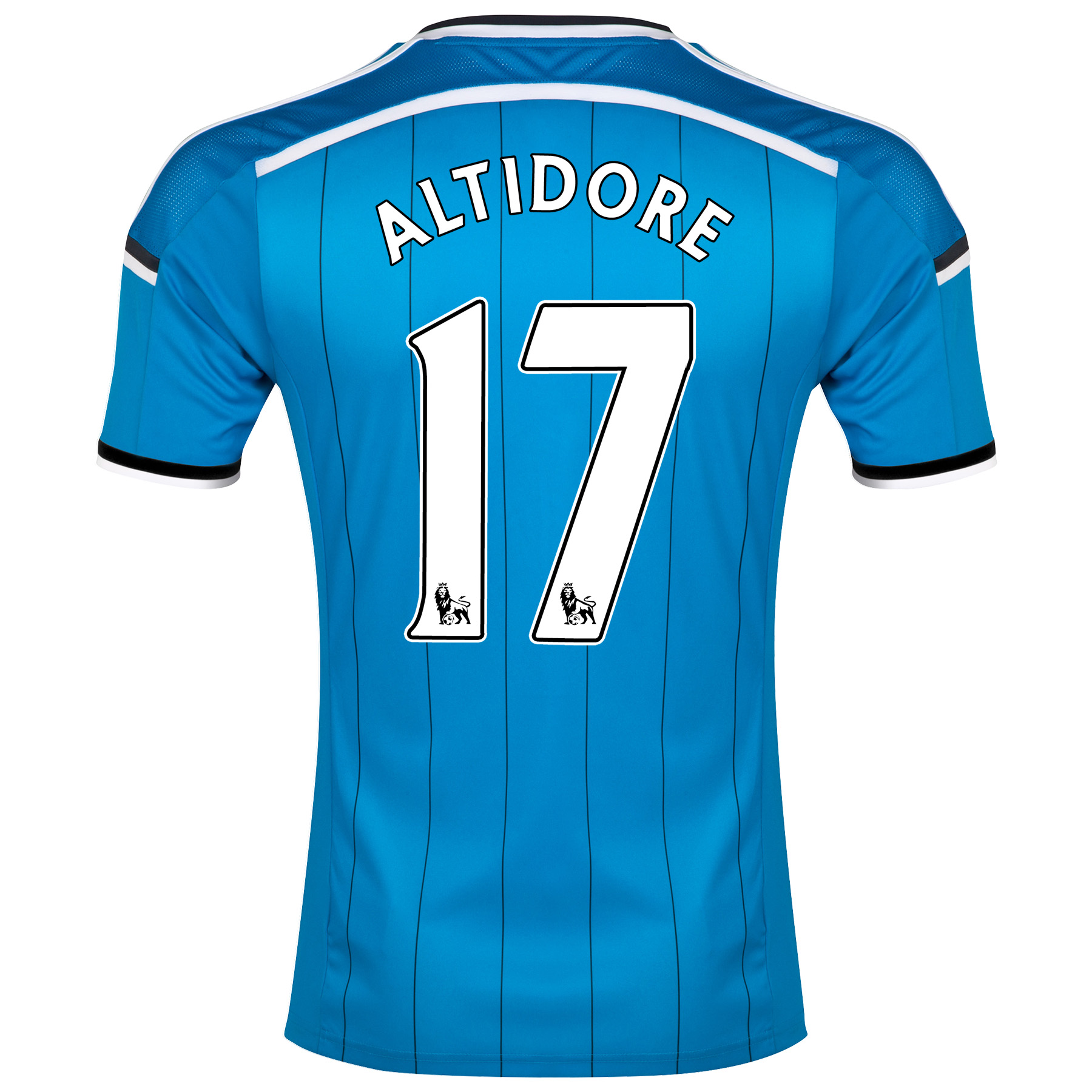 Sunderland Away Shirt 2014/15 Lt Blue with Altidore 17 printing