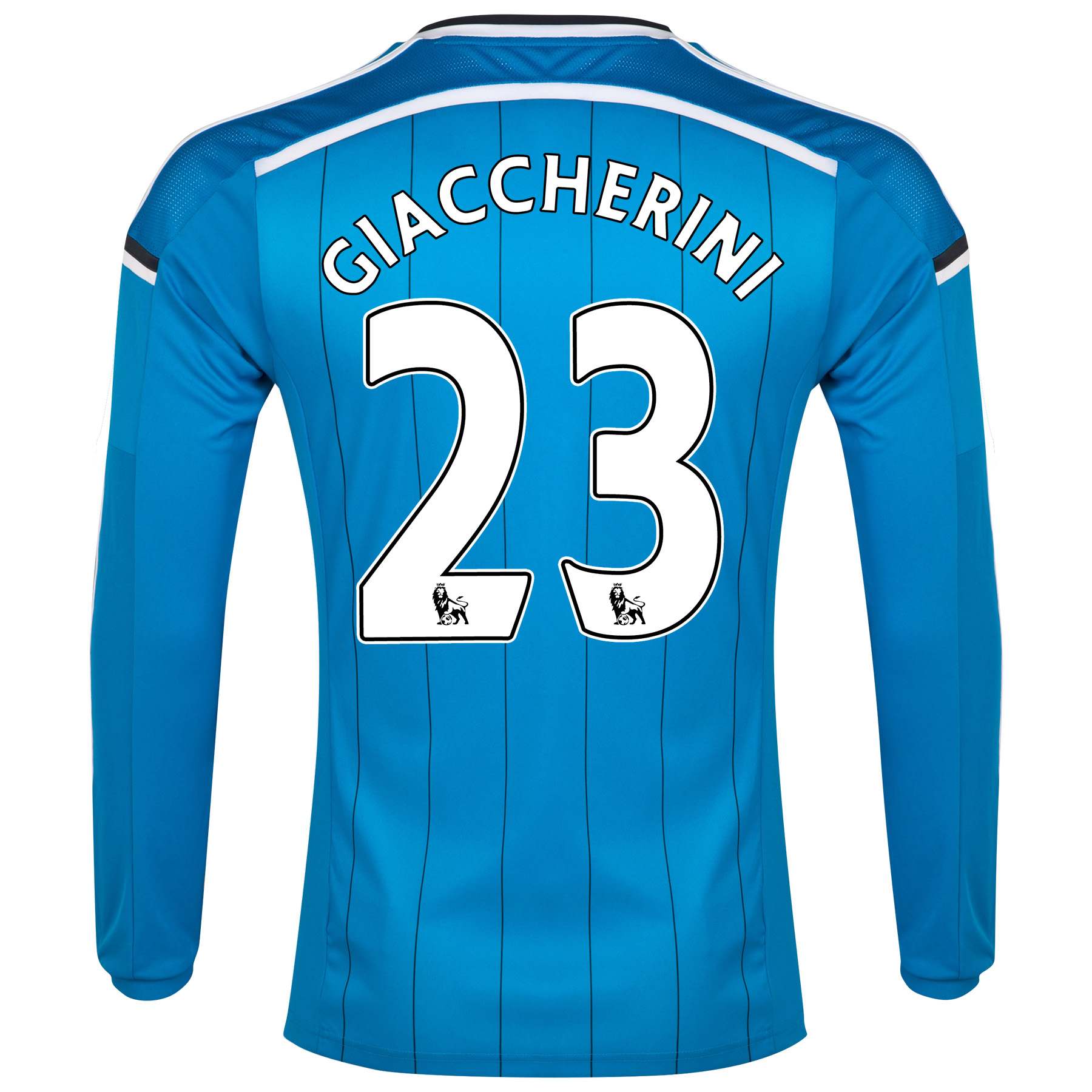 Sunderland Away Shirt 2014/15 - Long Sleeved Lt Blue with Giaccherini 23 printing