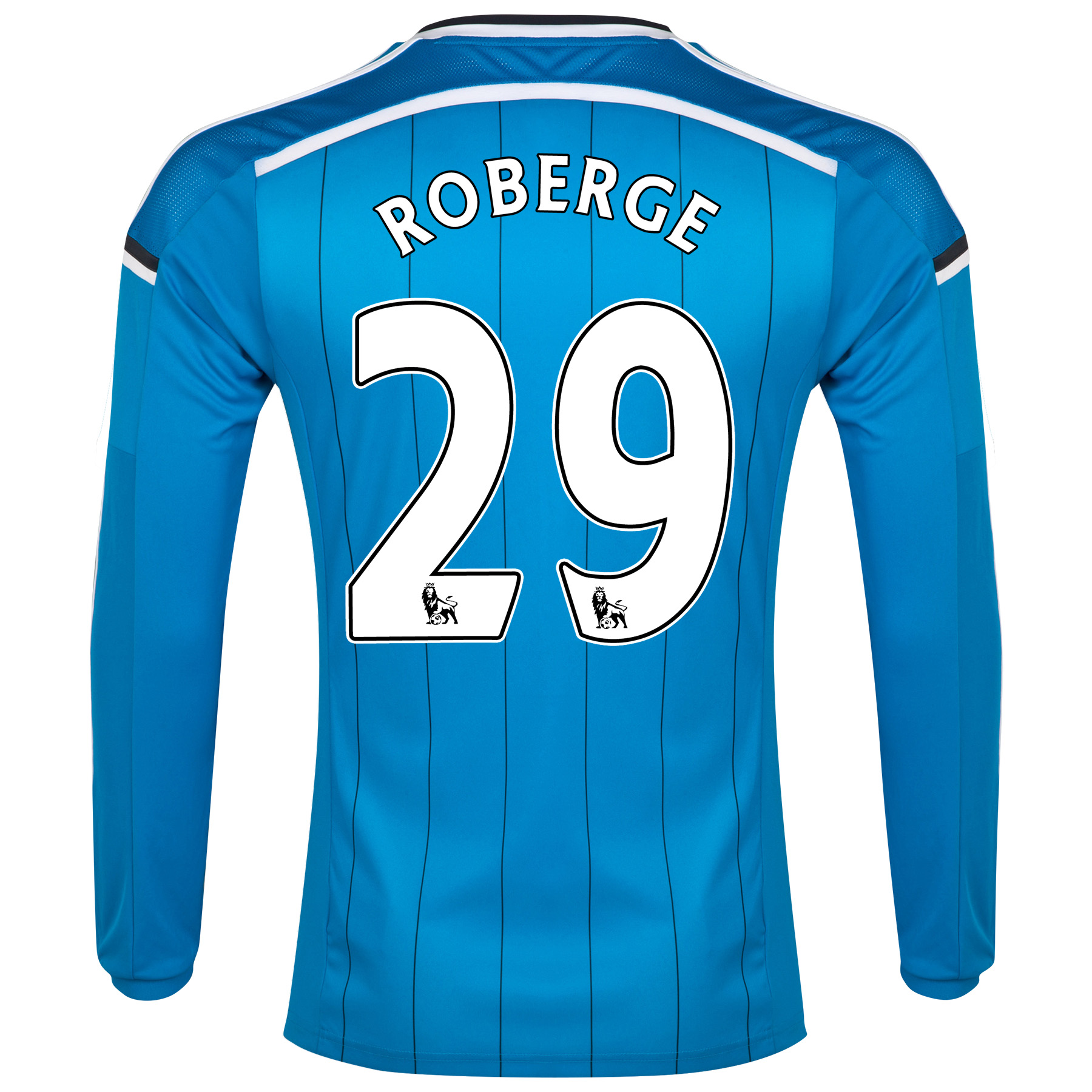 Sunderland Away Shirt 2014/15 - Long Sleeved Lt Blue with Roberge 29 printing