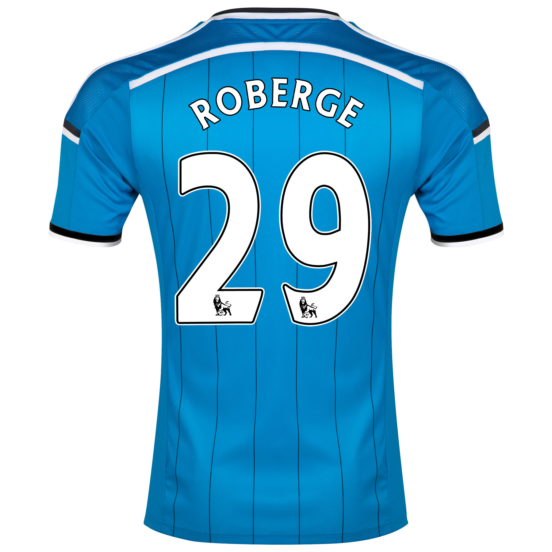 Sunderland Away Shirt 2014/15 - Junior Lt Blue with Roberge 29 printing