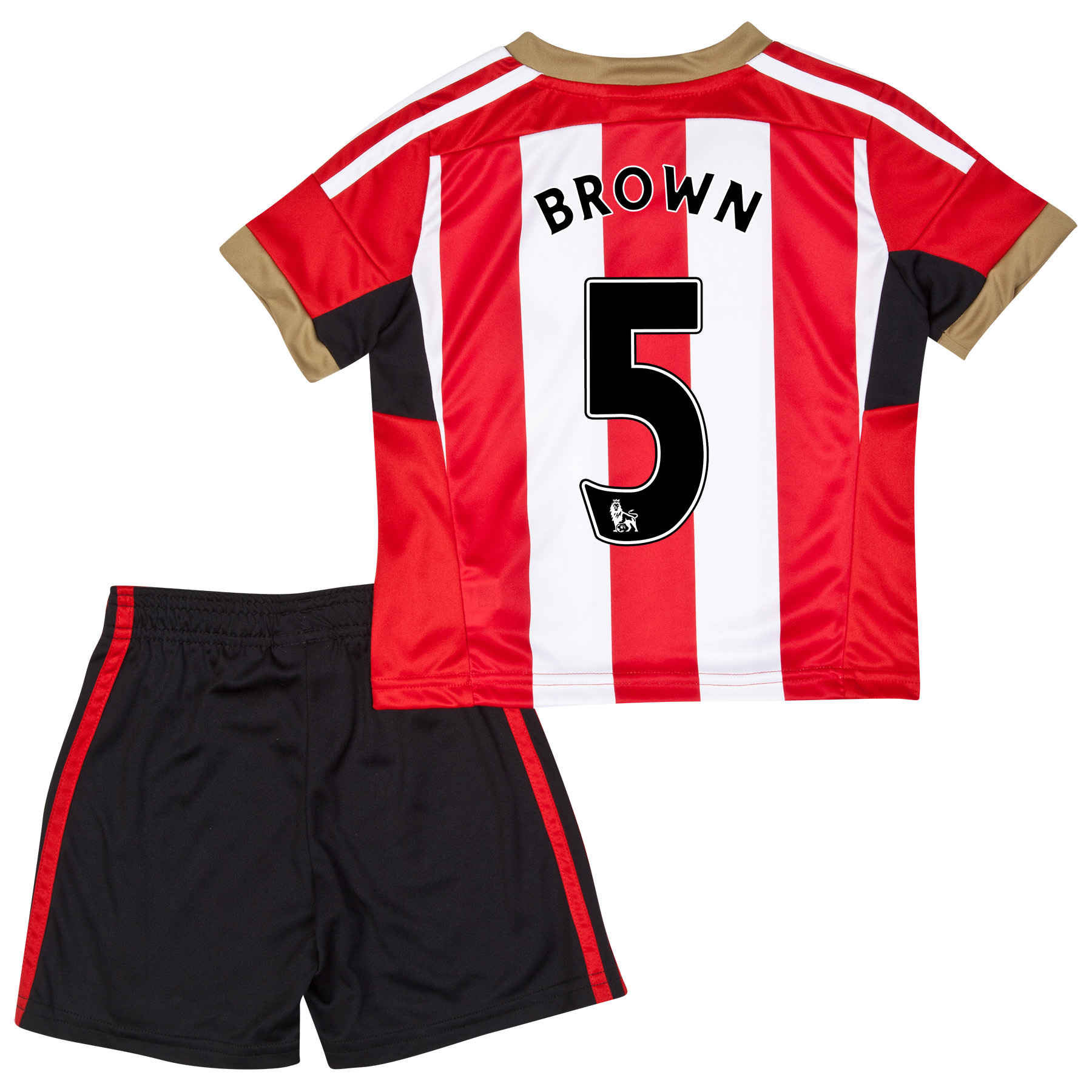 Sunderland Mini Kit 2014/15 Red with Brown 5 printing