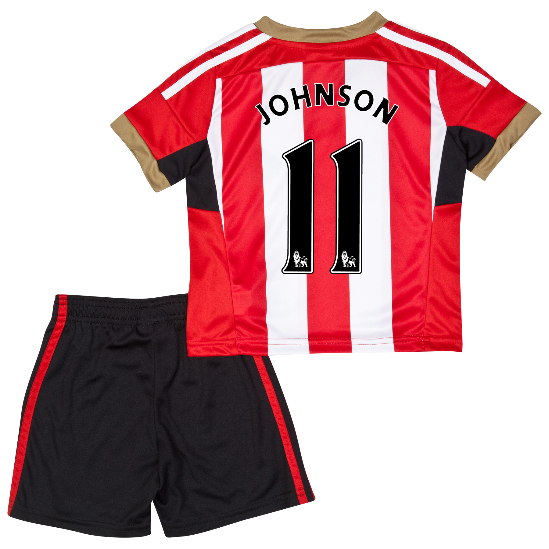 Sunderland Mini Kit 2014/15 Red with Johnson 11 printing