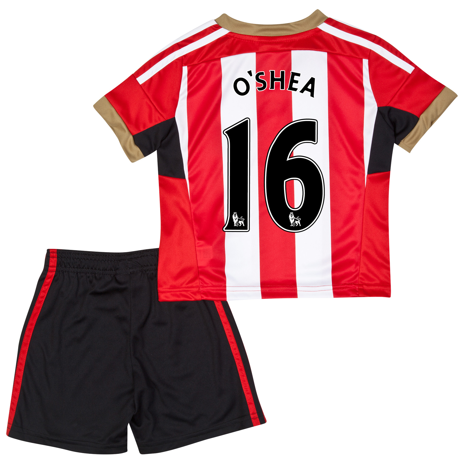 Sunderland Mini Kit 2014/15 Red with O'Shea 16 printing