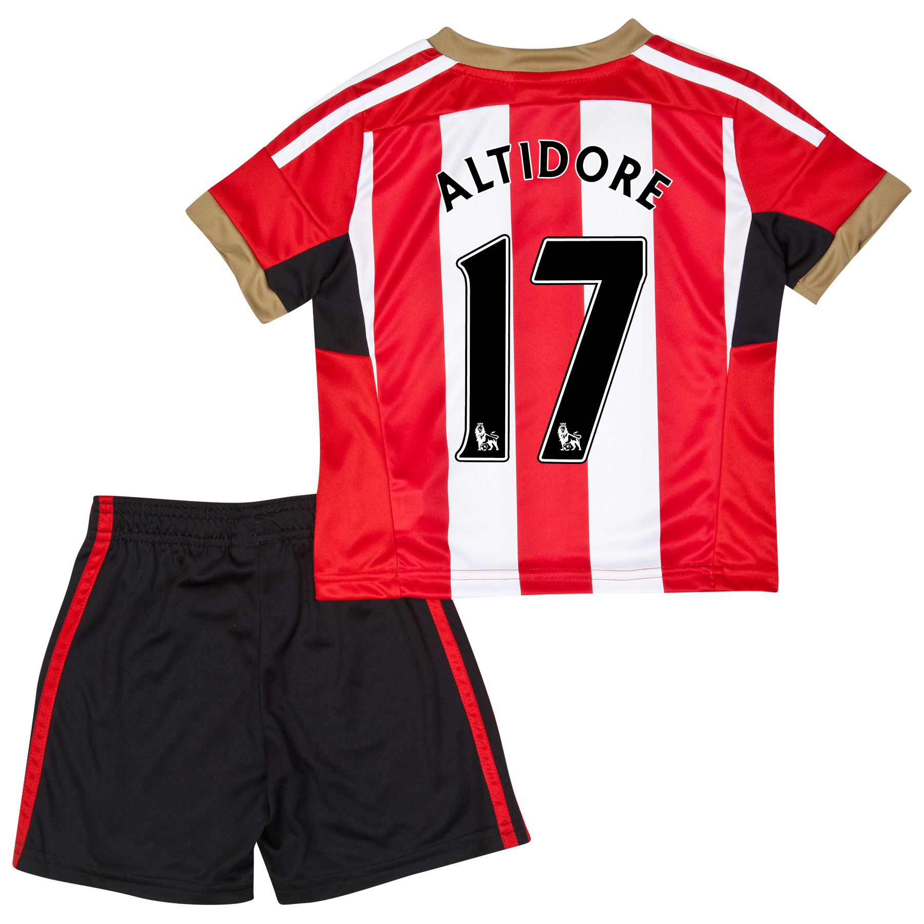 Sunderland Mini Kit 2014/15 Red with Altidore 17 printing