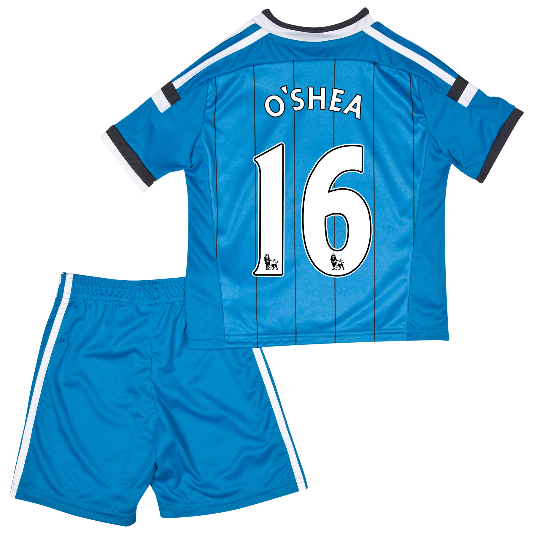 Sunderland Away Mini Kit 2014/15 Lt Blue with O'Shea 16 printing