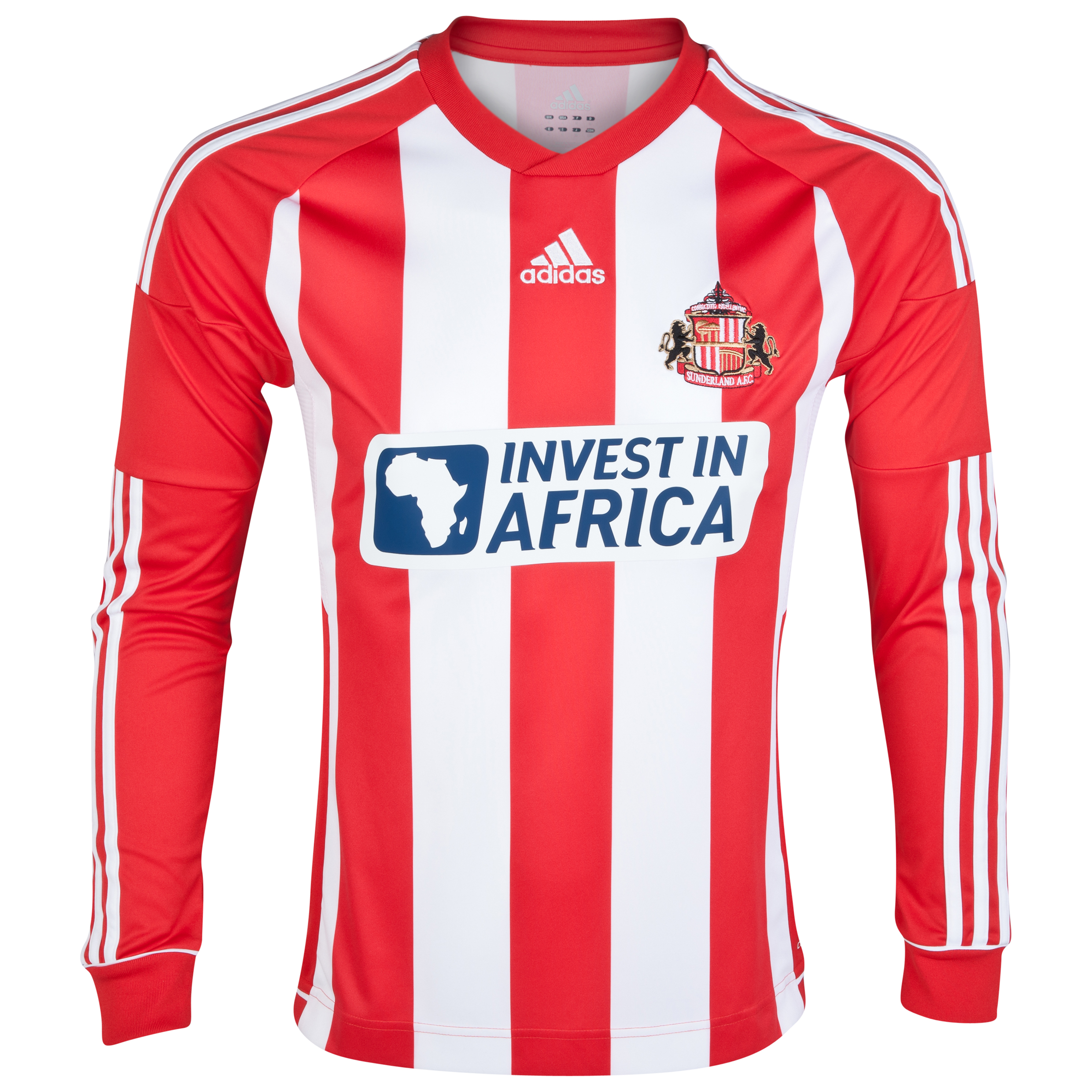 Sunderland Home Shirt 2012/13 - Long Sleeved