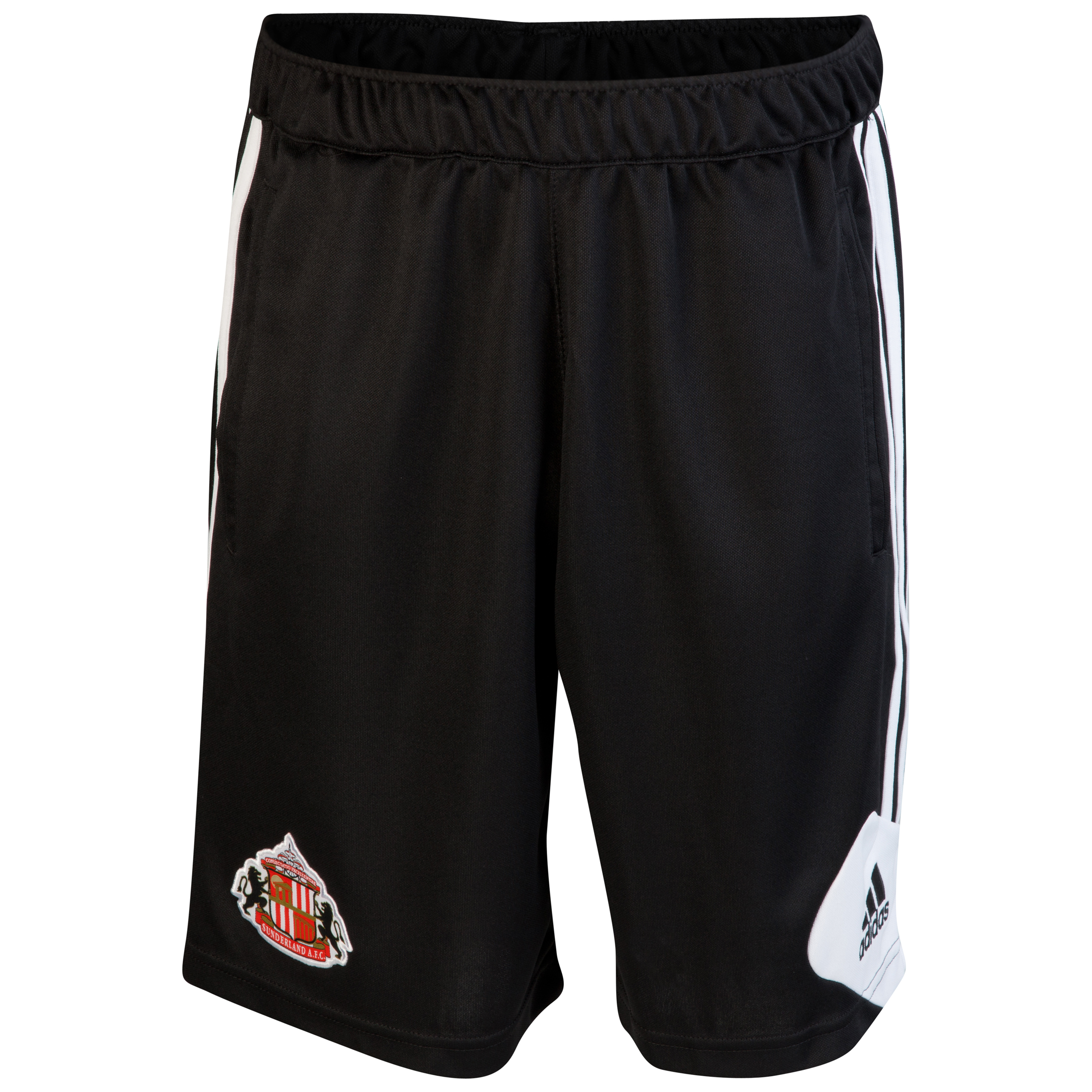 Sunderland Condivo Training Short - Black/White