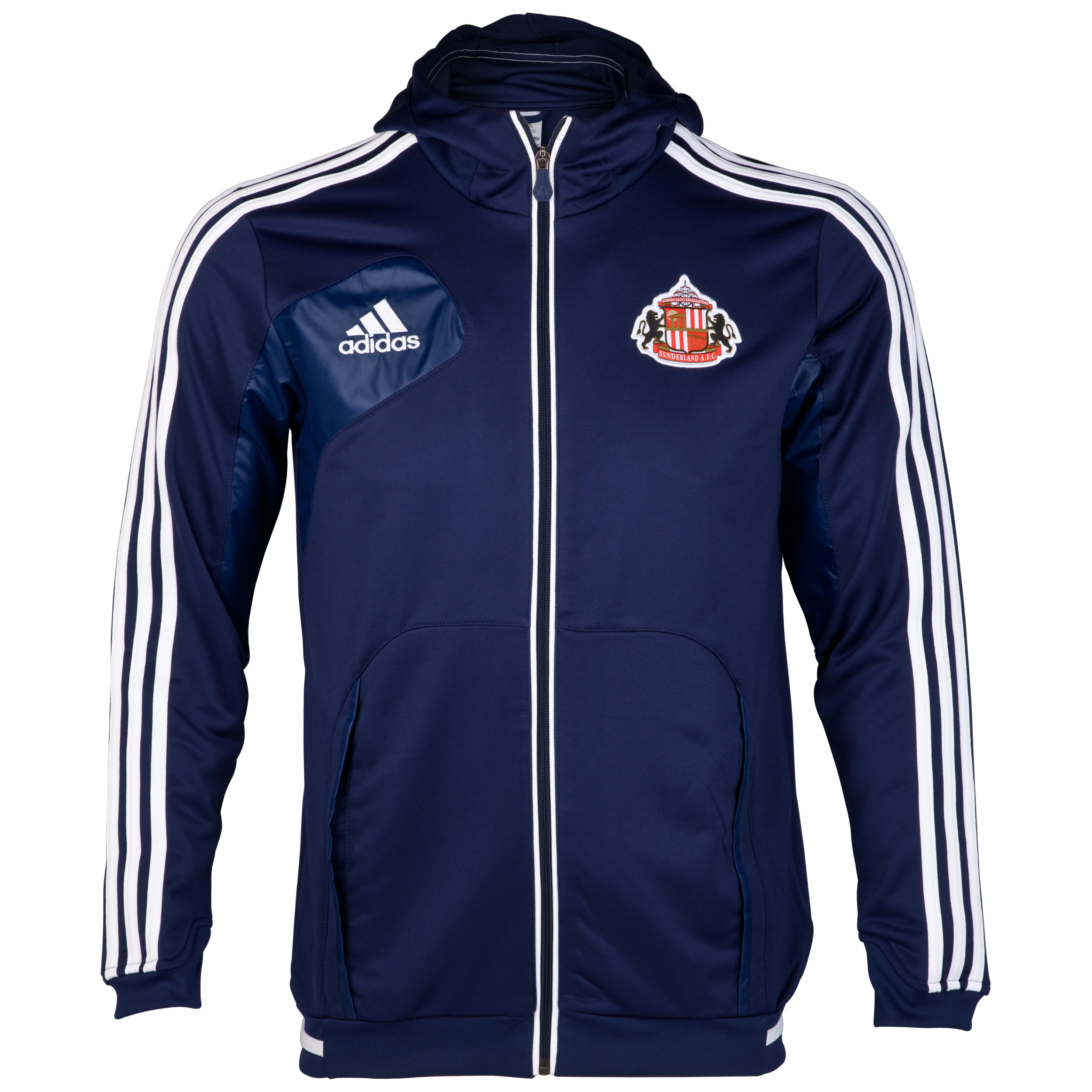 Sunderland Condivo Full Zip Hoodie - New Navy/White
