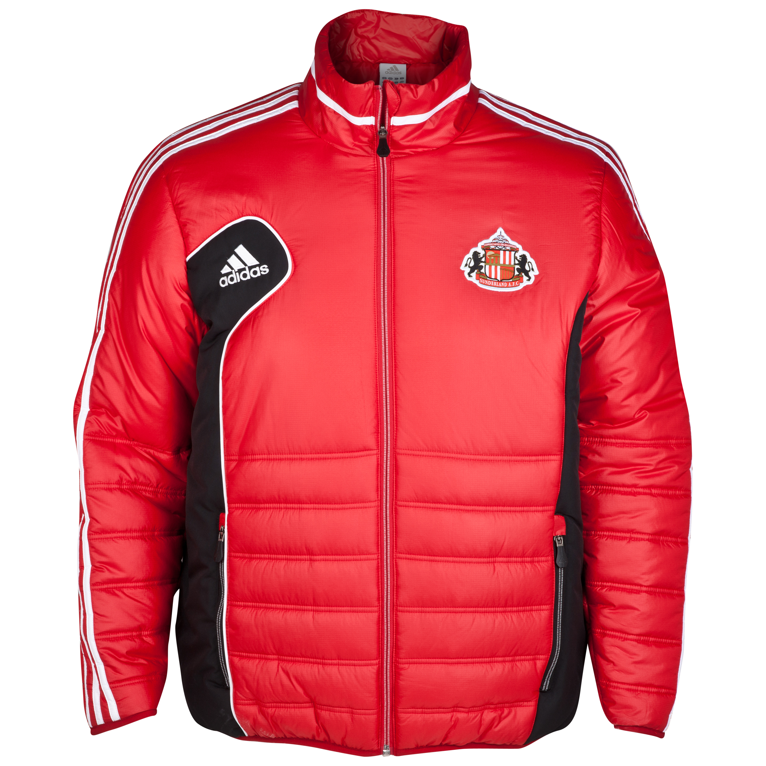 Sunderland Condivo Padded Jacket - University Red/White