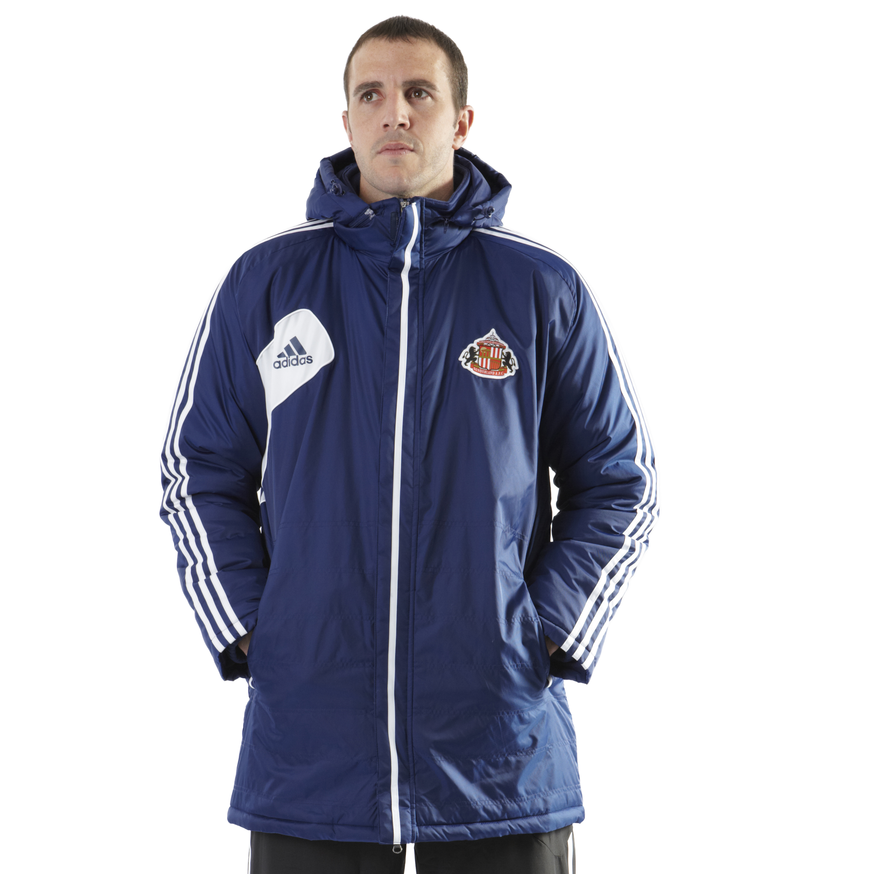 Sunderland Condivo Stadium Jacket - New Navy/White