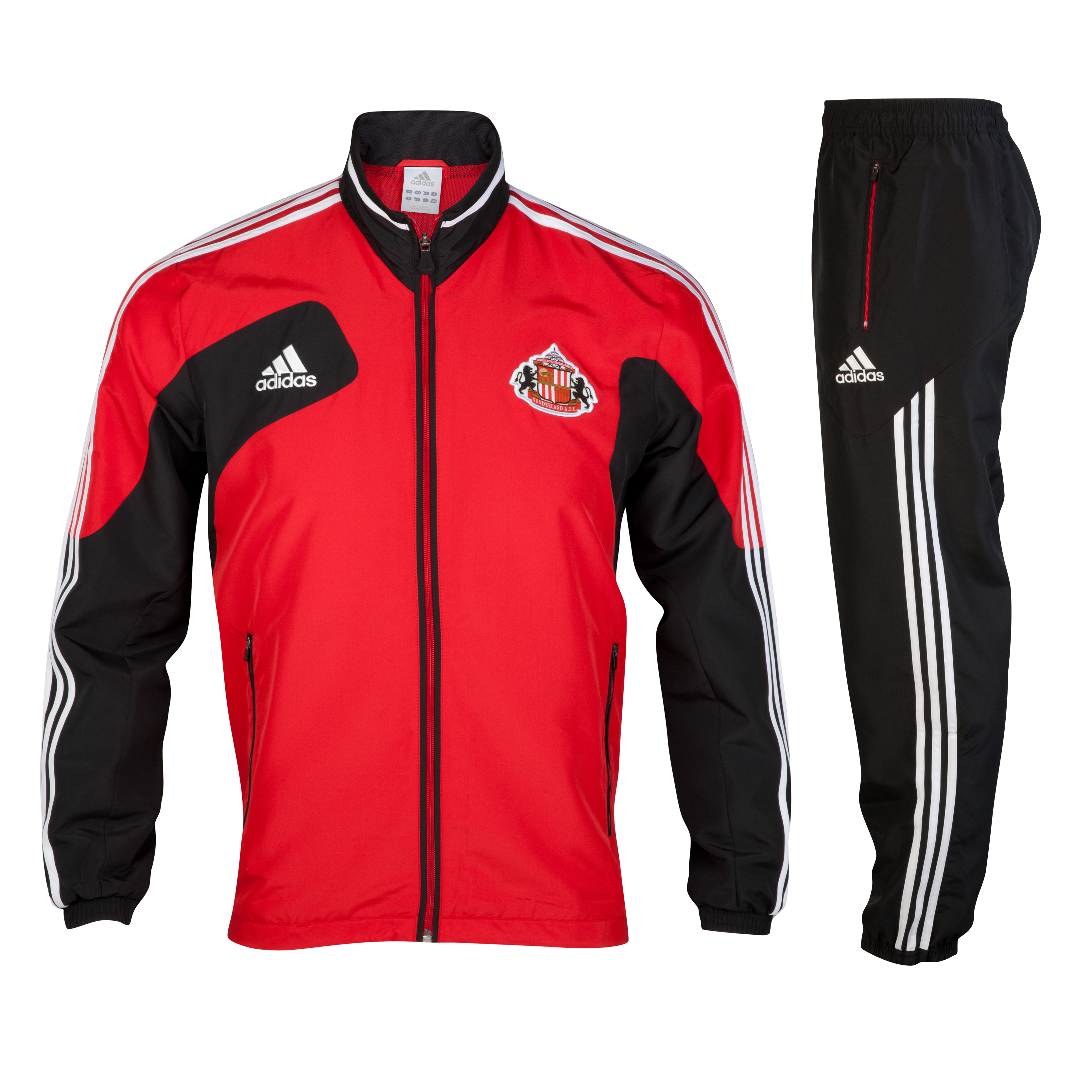 Sunderland Condivo Presentation Suit - University Red/Black/White