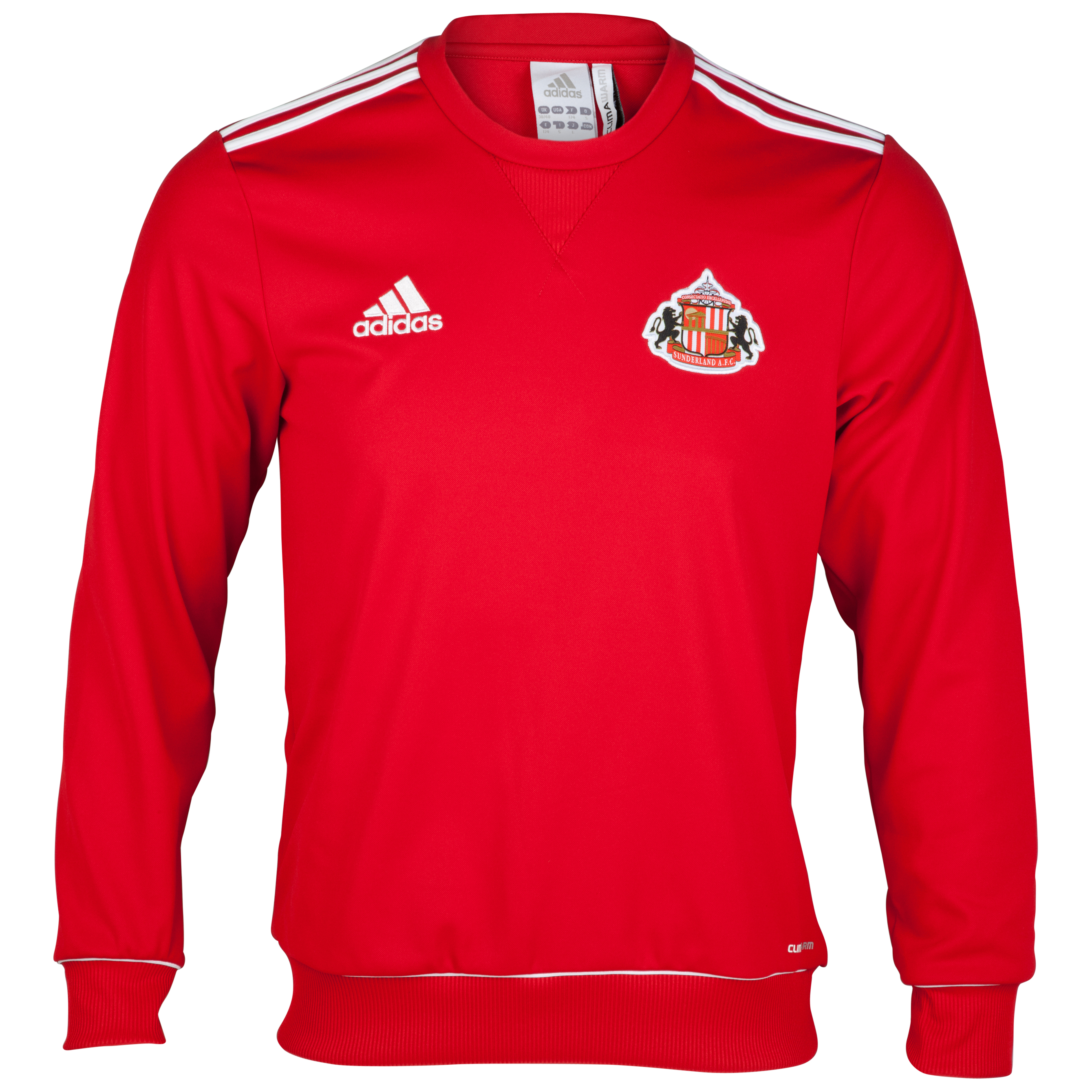Sunderland Core Sweat Top  - Univeristy Red/White