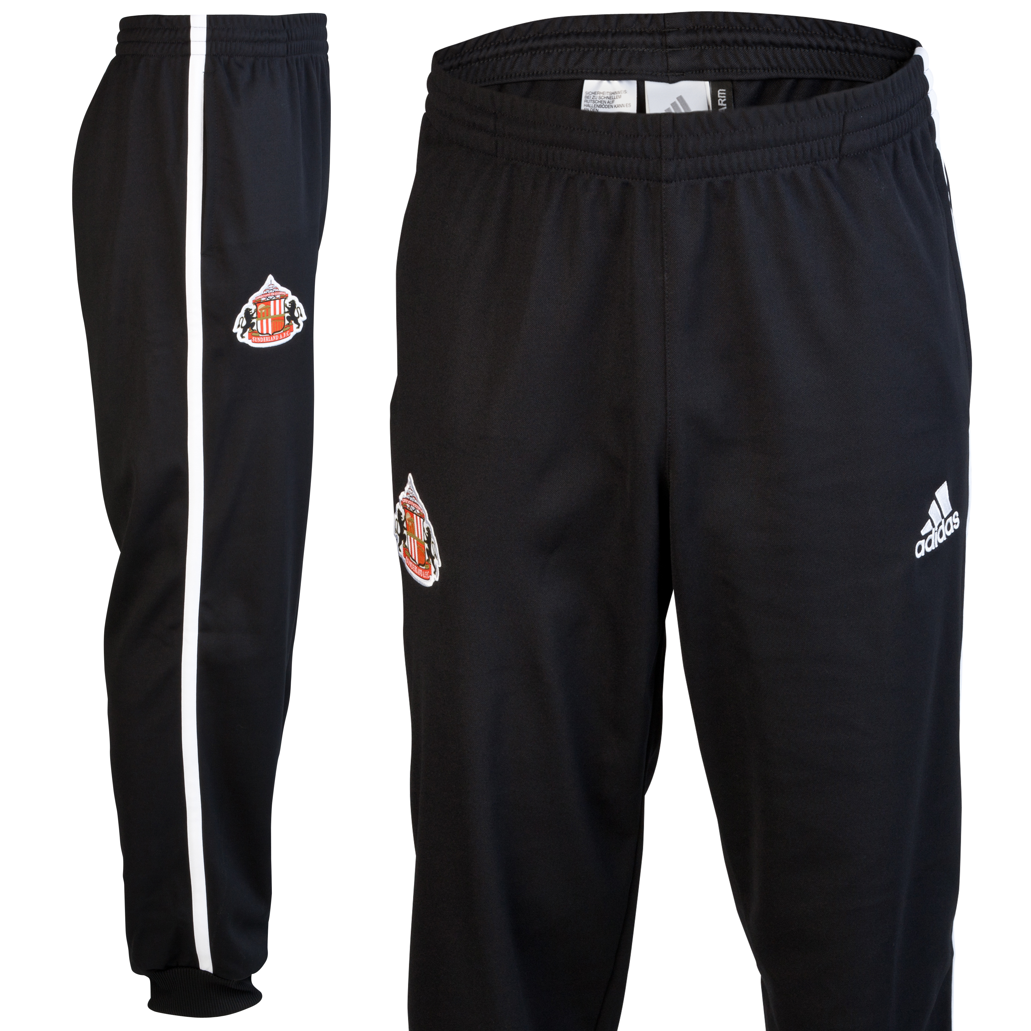 Sunderland Core Sweat Pant - Black/White