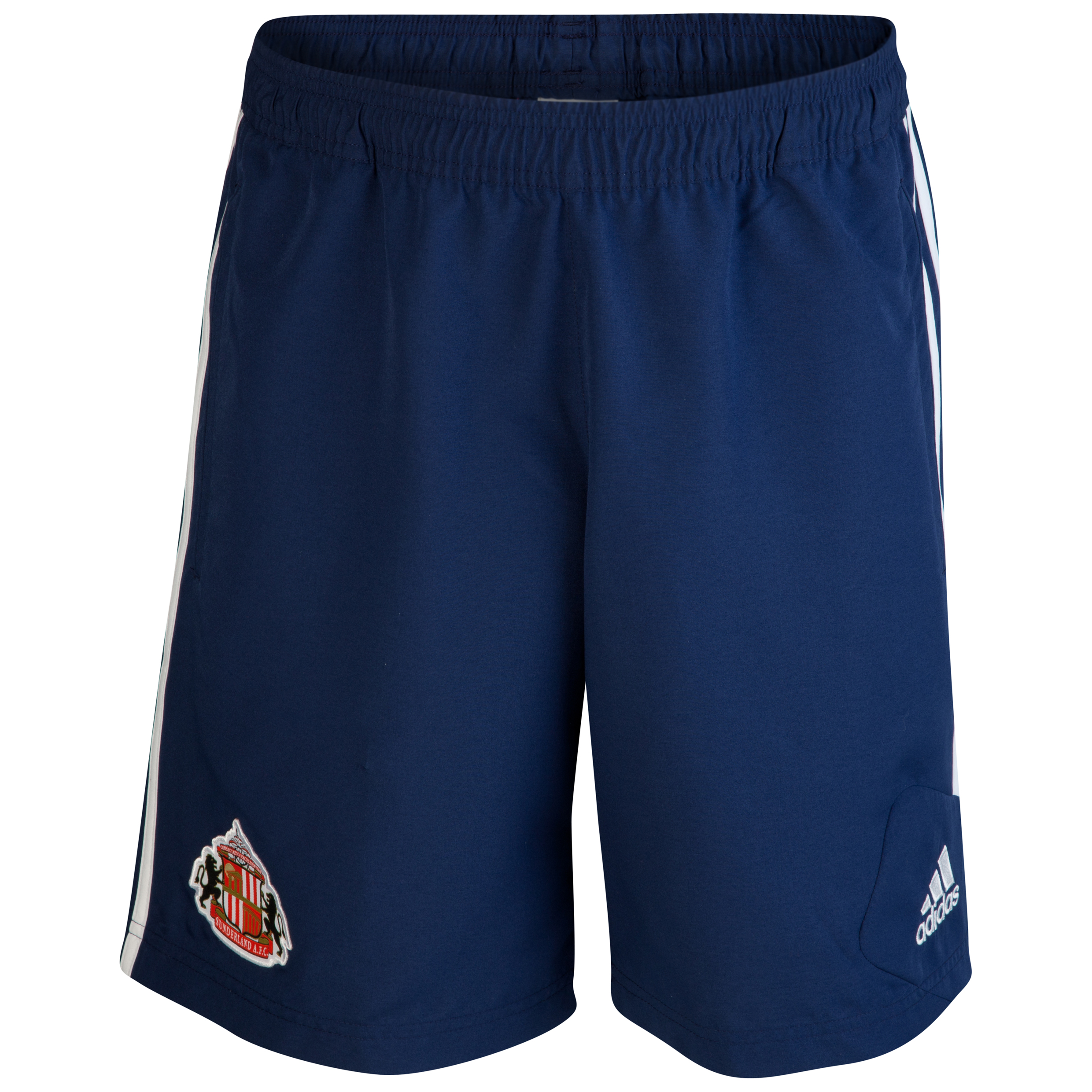 Sunderland Condivo Woven Short - New Navy/White - Junior