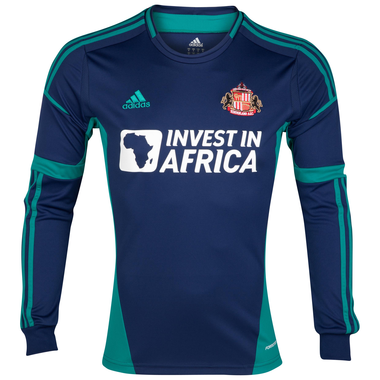 Sunderland Away Shirt 2012/13 - Long Sleeved