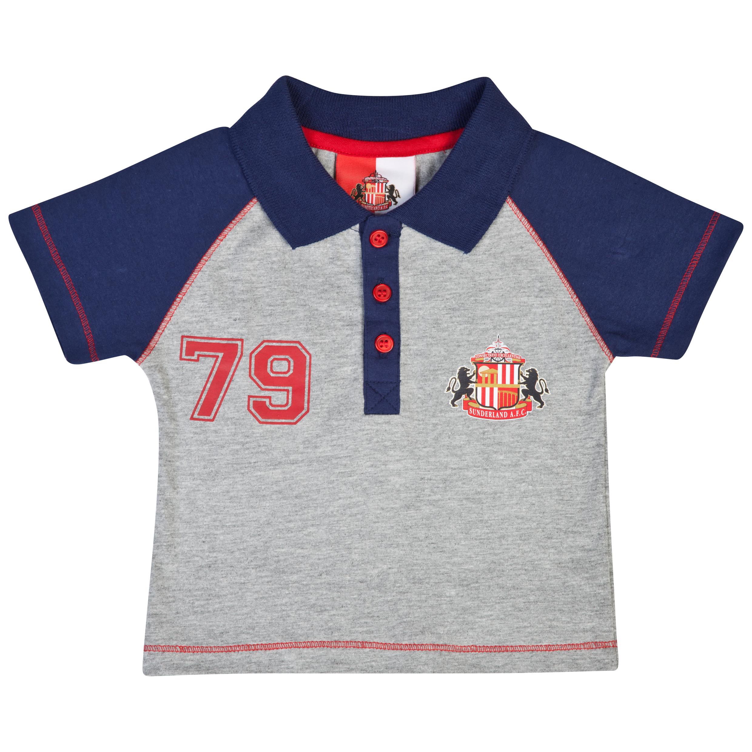 Sunderland Polo Top - Navy - Baby