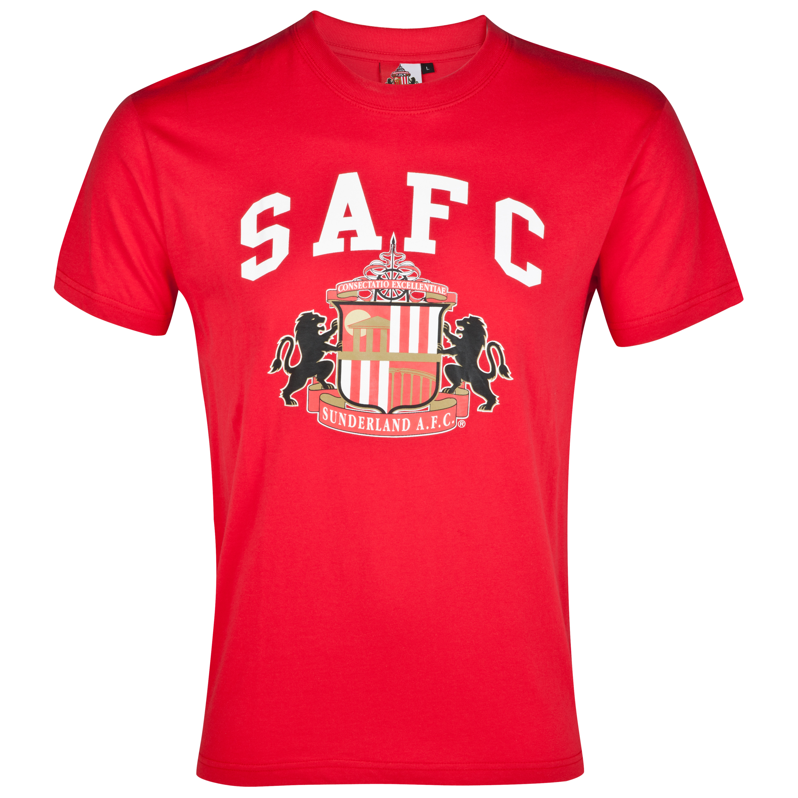 Sunderland Essential Freedom Graphic T-Shirt - Red