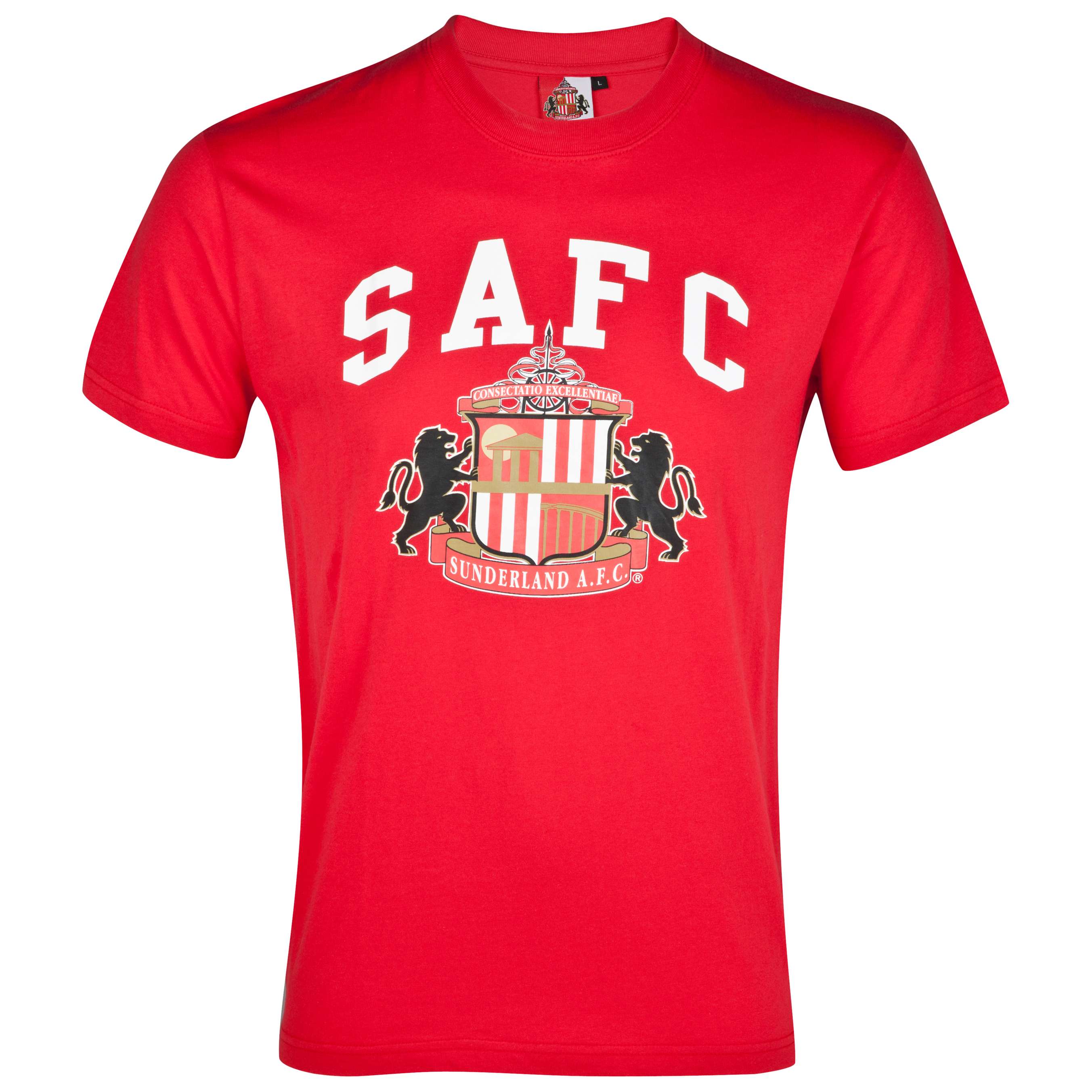 Sunderland Essential Freedom Graphic T-Shirt - Red - Older Boys
