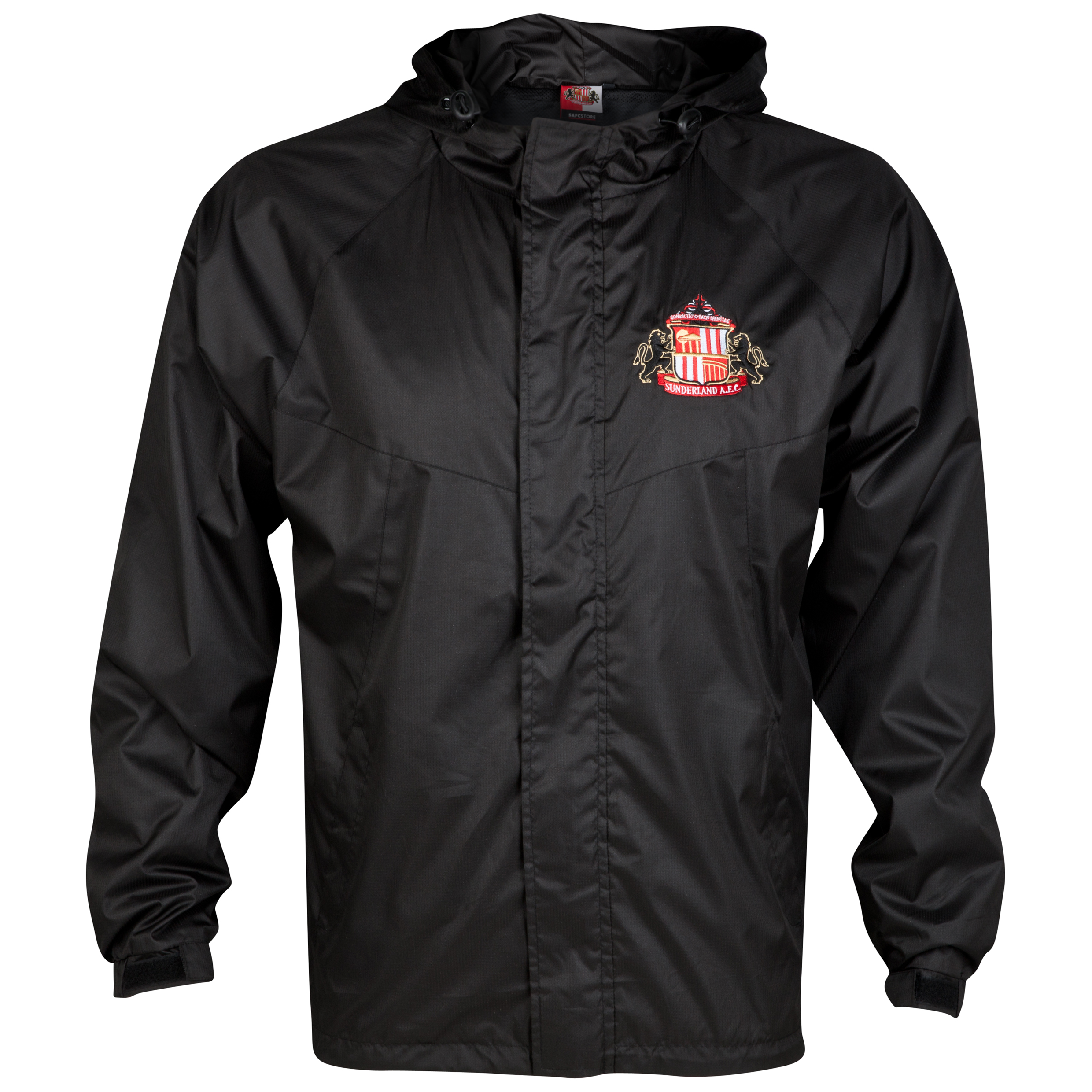 Sunderland Essential Dewar Shower Jacket - Black - Older Boys